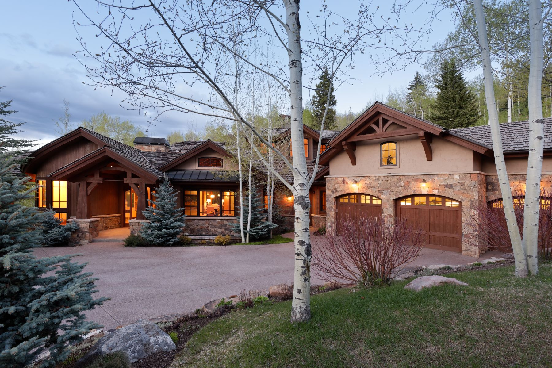Additional photo for property listing at Privacy in The Pines 522 Pine Crest Drive, Snowmass Village, Колорадо 81615 Соединенные Штаты