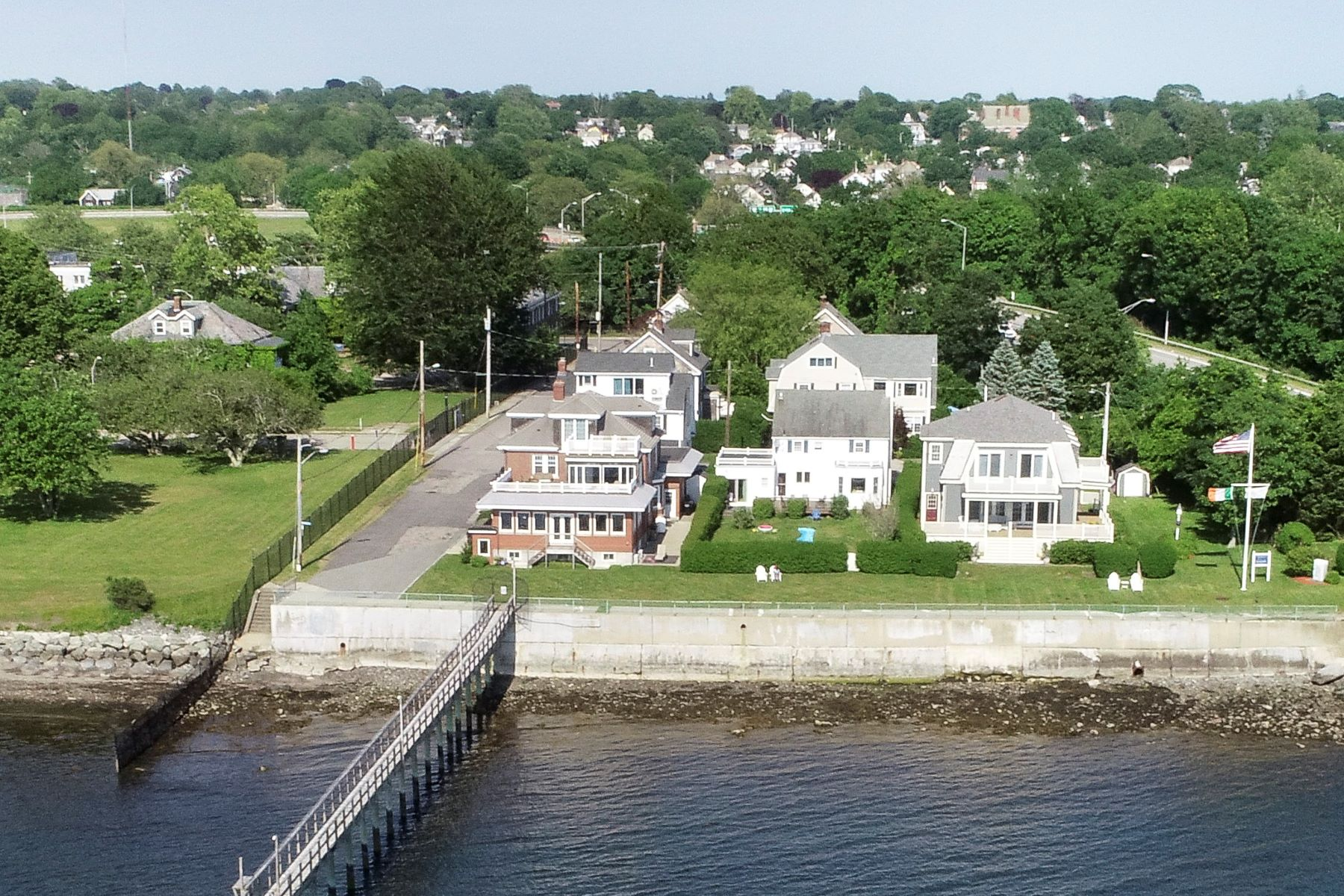 Single Family Homes for Sale at Newport Harborfront with Deepwater Dock 1 Cypress Street Newport, Rhode Island 02840 United States