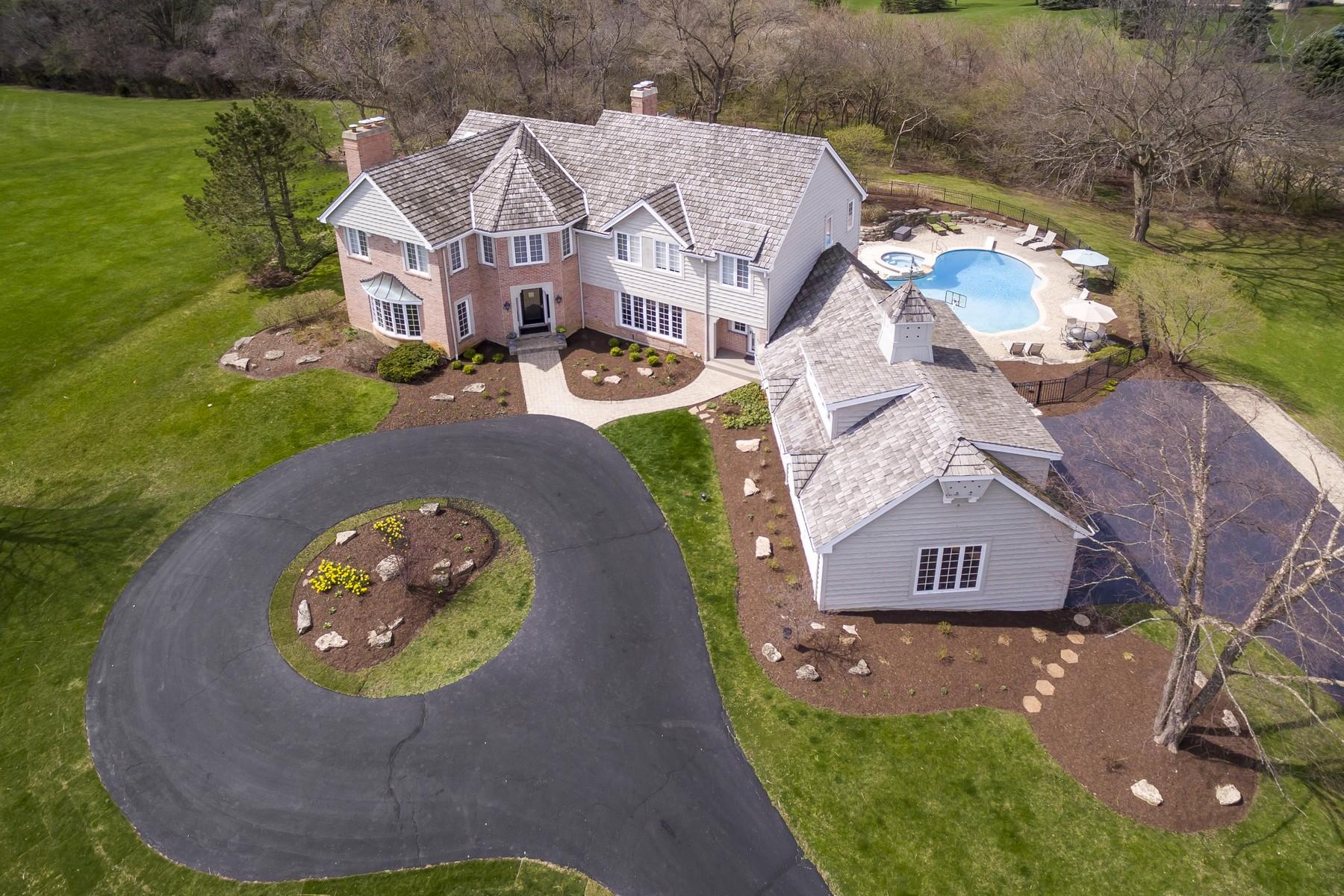 Einfamilienhaus für Verkauf beim French Country Retreat 30 Polo Drive South Barrington, Illinois, 60010 Vereinigte Staaten