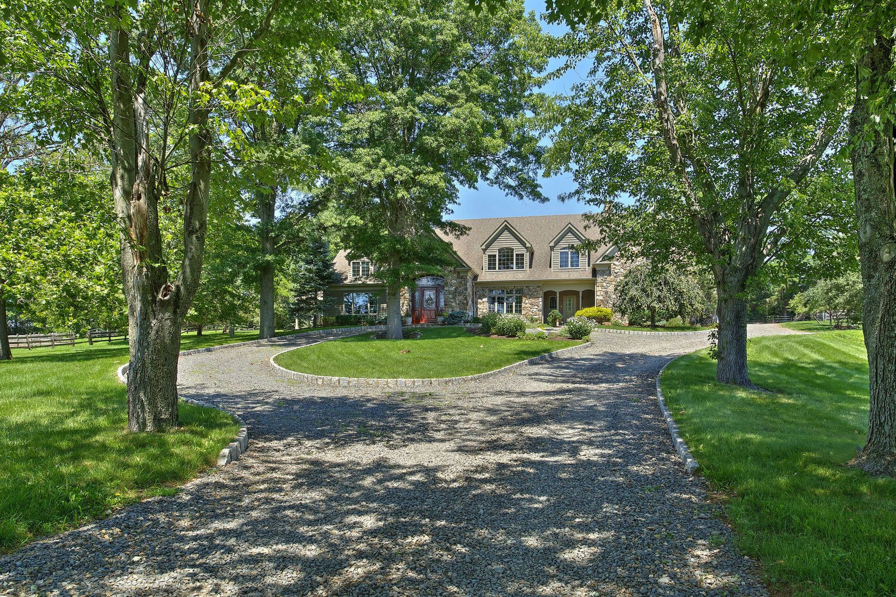 Single Family Home for Sale at French Country Equestrian 2105 Lamington Road Bedminster, New Jersey 07921 United States