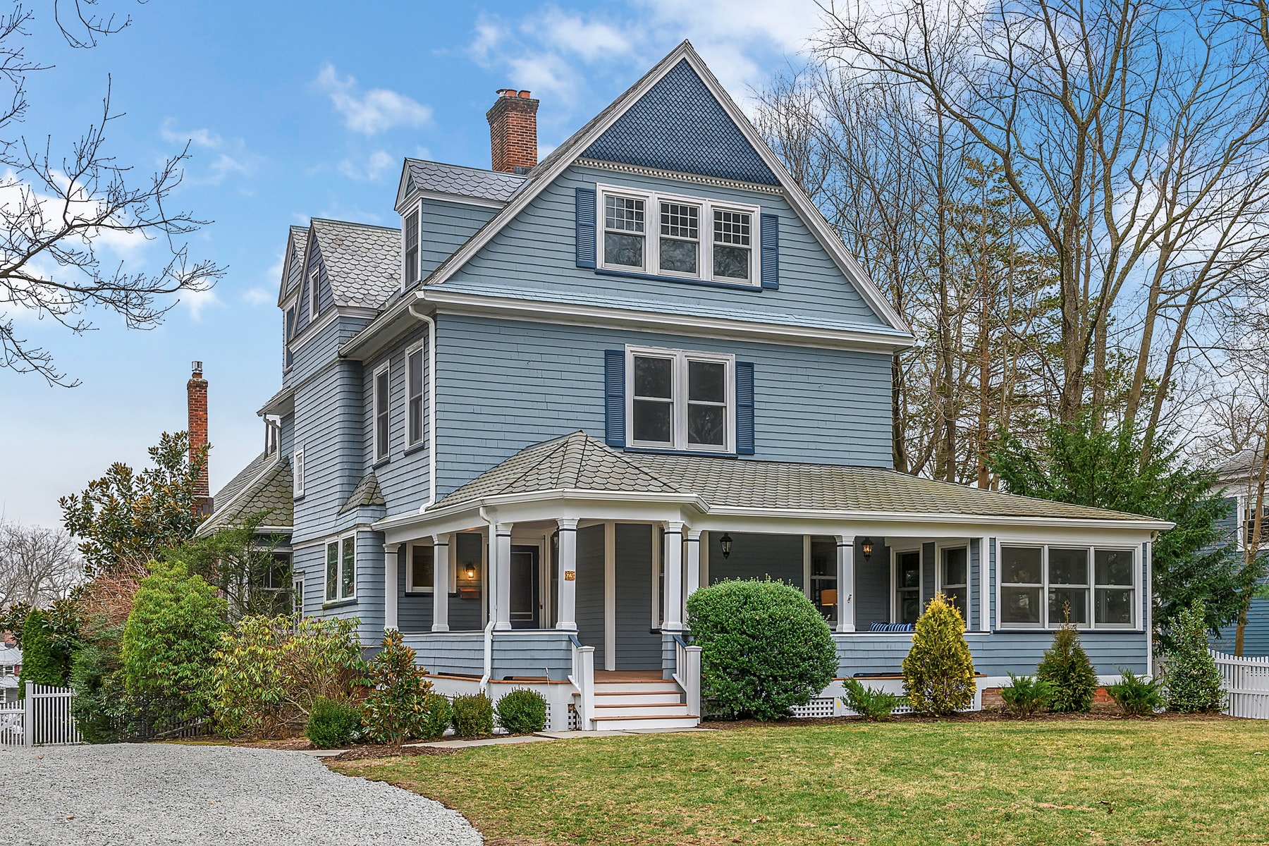 Single Family Homes for Sale at Enchanting Victorian 73 Highland Avenue Glen Ridge, New Jersey 07028 United States