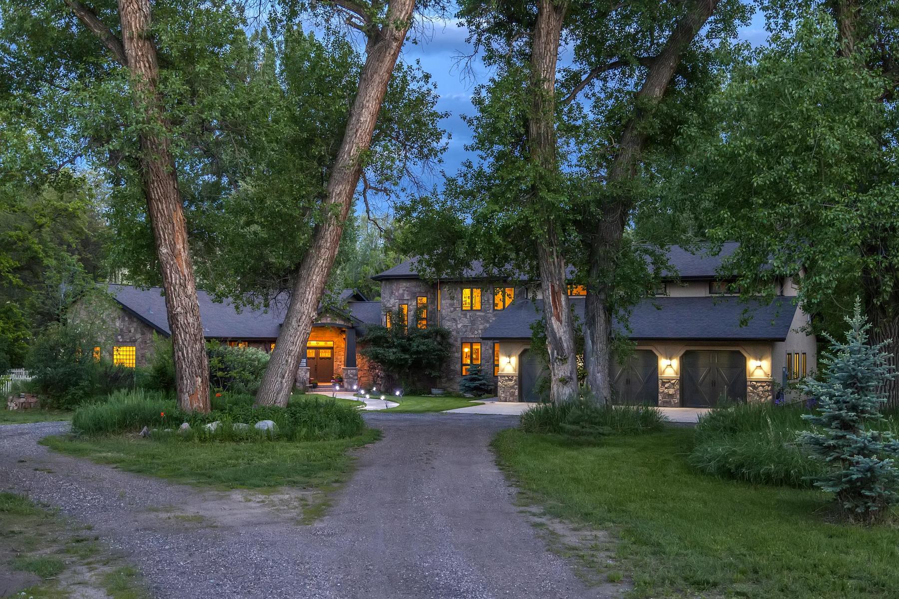 Einfamilienhaus für Verkauf beim Riverfront Estate 2422 Black Crow Ln Loveland, Colorado, 80537 Vereinigte Staaten