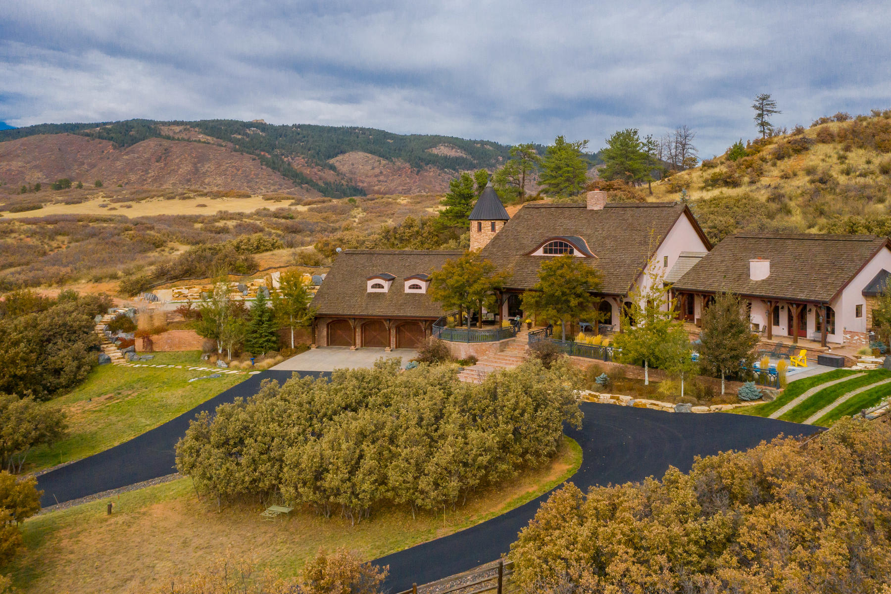 Single Family Homes for Sale at 242 Acre Ranch - Escape the Hustle of the World 6501 Jackson Creek Road Sedalia, Colorado 80135 United States