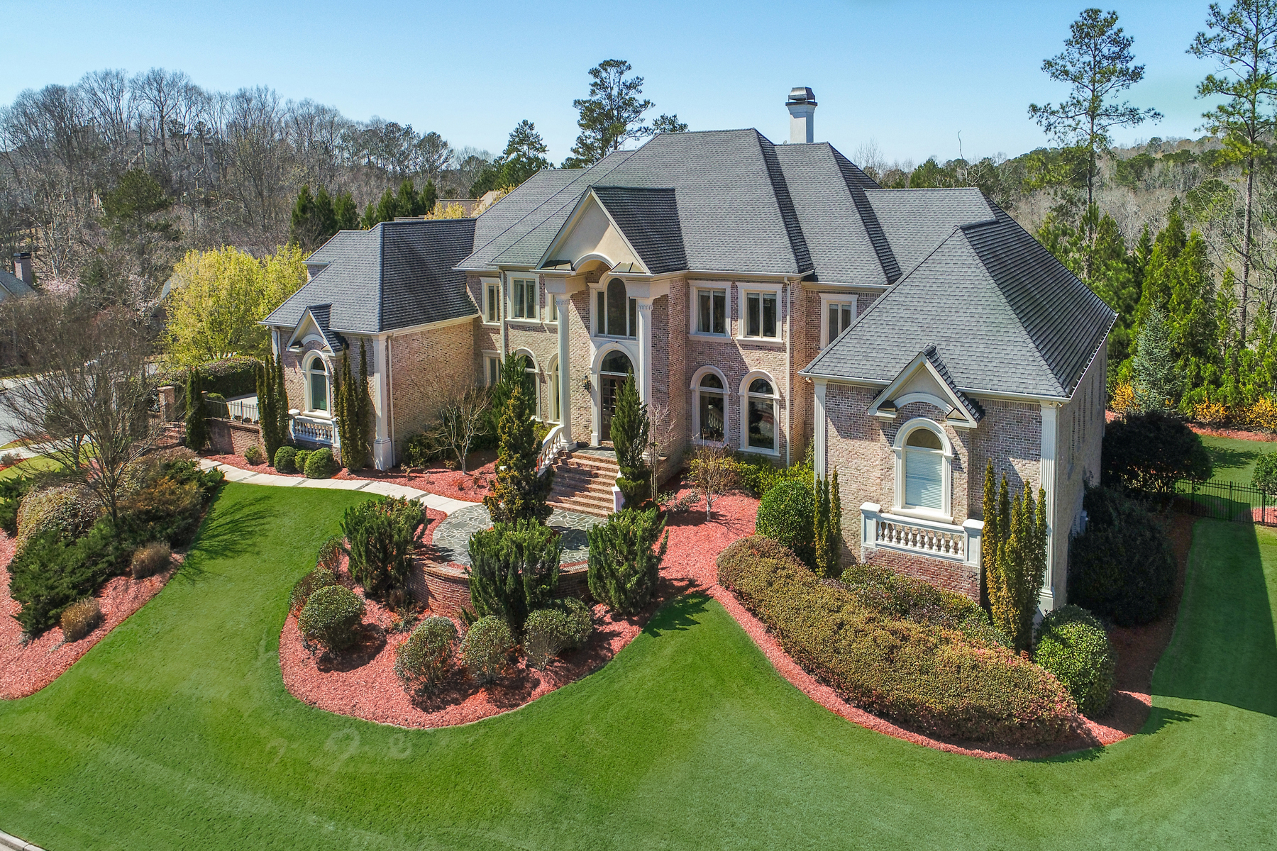 Single Family Home for Sale at Luxurious Sandy Springs Estate 435 Verdi Lane Sandy Springs, Georgia 30328 United States