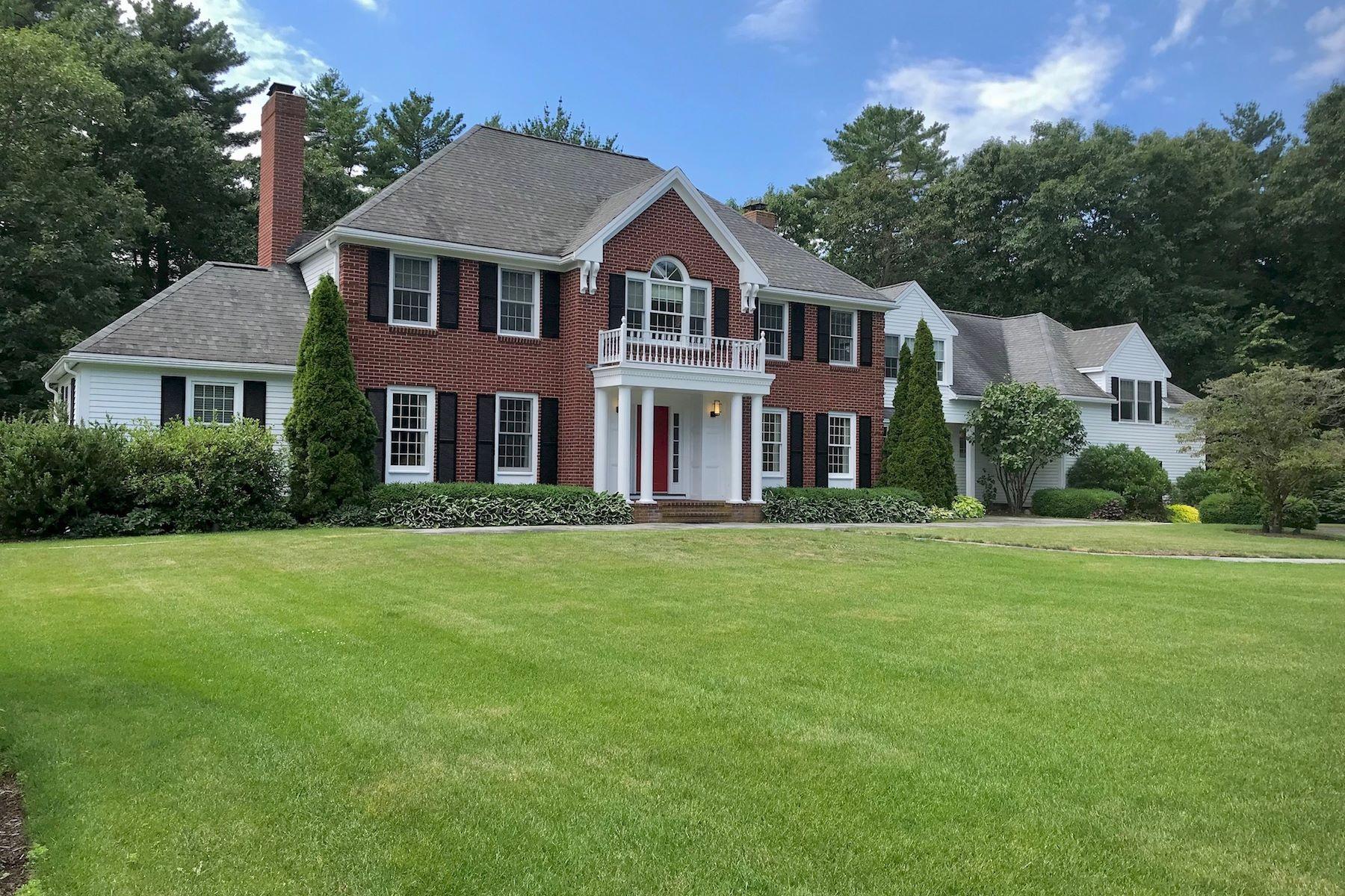Single Family Homes for Sale at Timeless Georgian Inspired Residence 8 Charles Davis Dr Wenham, Massachusetts 01984 United States