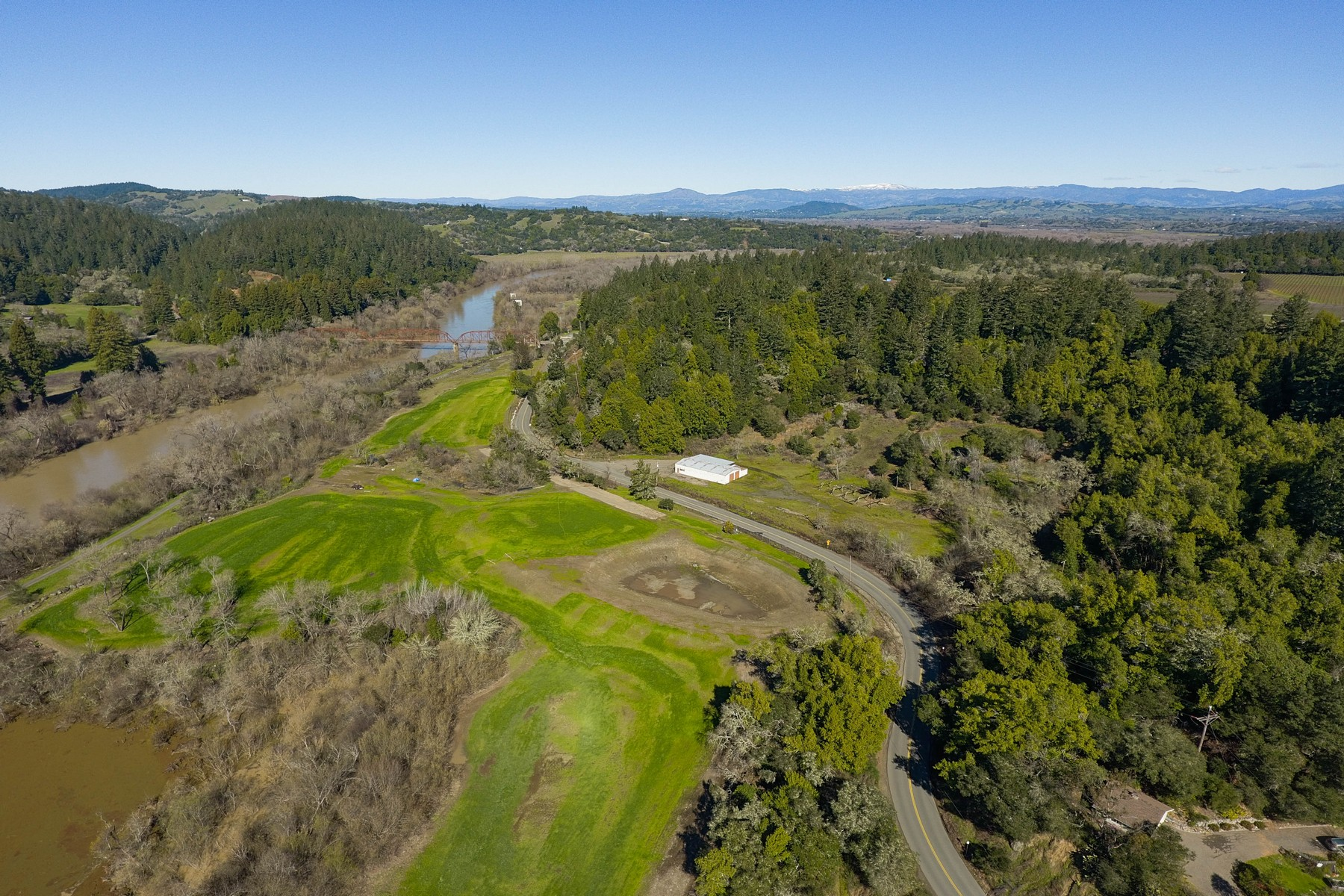 Land for Active at 9841 Wohler Road Healdsburg, California 95448 United States