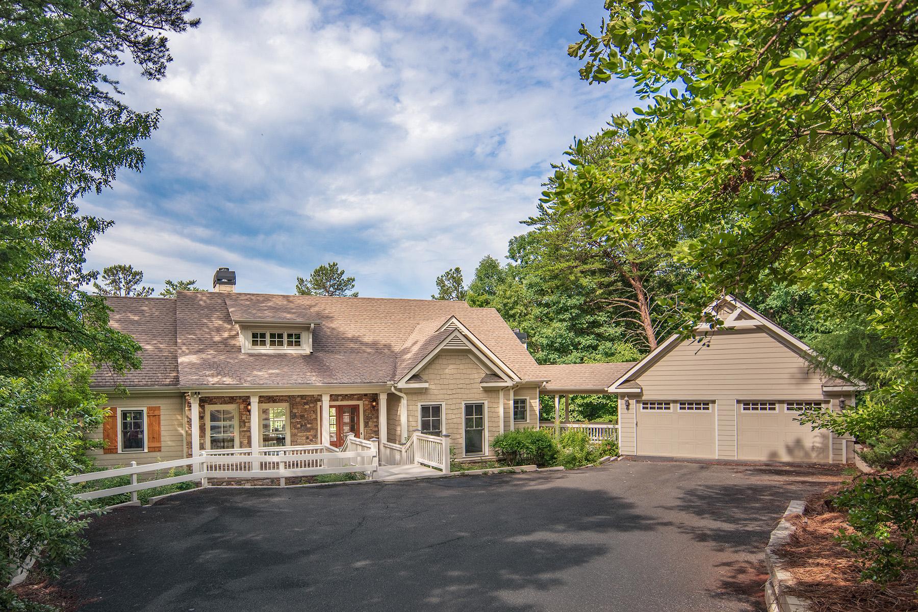 Single Family Home for Sale at Serene Mountain Living 274 Wood Poppy Drive Big Canoe, Georgia 30143 United States