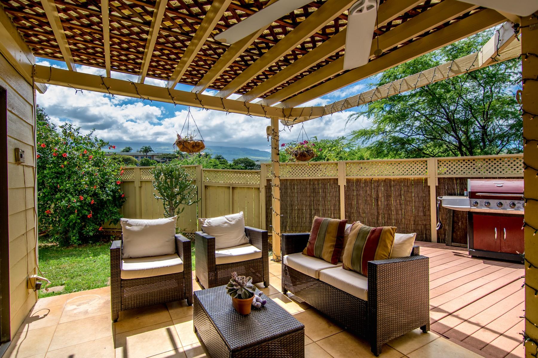 コンドミニアム のために 売買 アット Residential Condo Living in South Maui 82 Auhana Road, Auhana Kuleana 103 Kihei, ハワイ, 96753 アメリカ合衆国