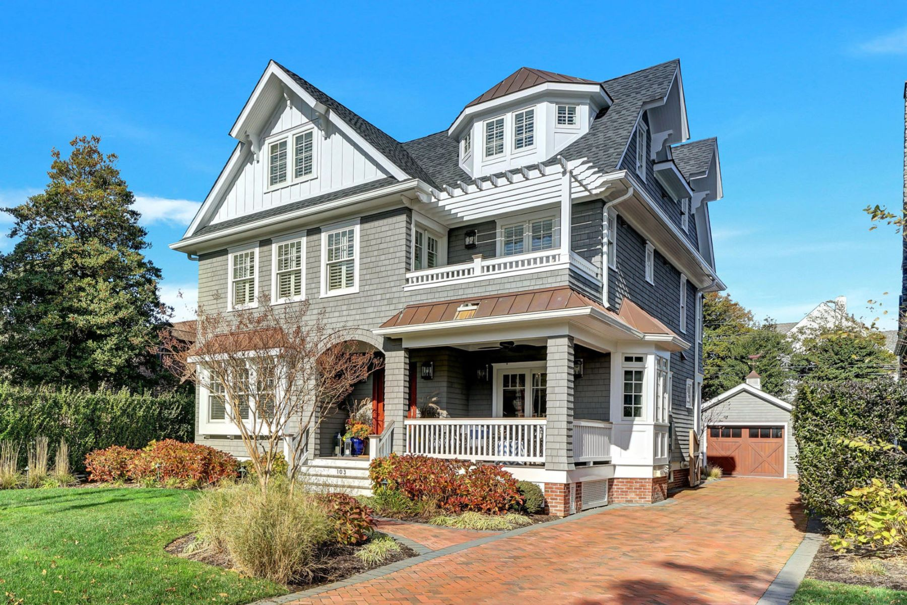 Maison unifamiliale pour l Vente à Unrivaled Beauty and Superb Architecture 103 Philadelphia Boulevard, Sea Girt, New Jersey 08750 États-Unis