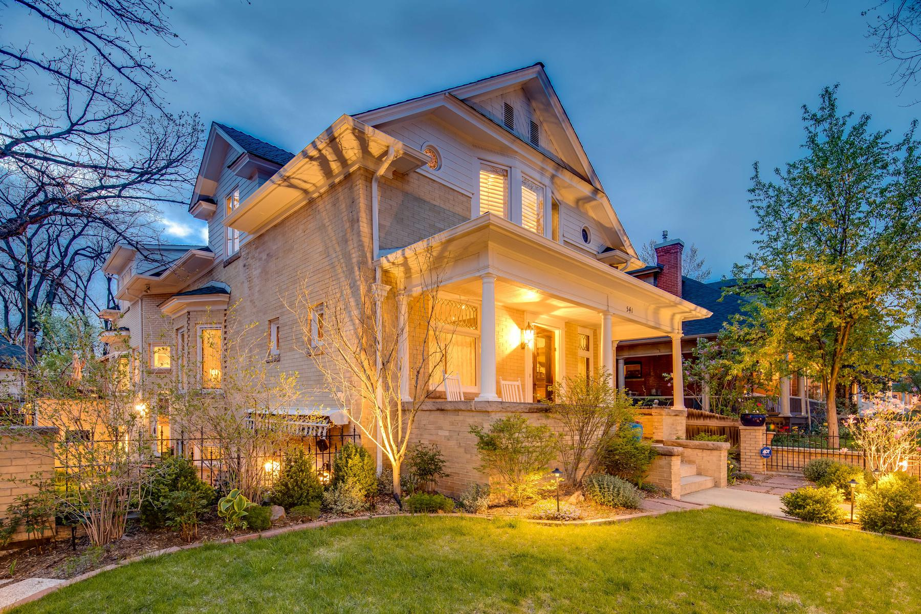 Additional photo for property listing at This Is The House You've Been Waiting For In Country Club! 541 High Street Denver, Colorado 80218 United States