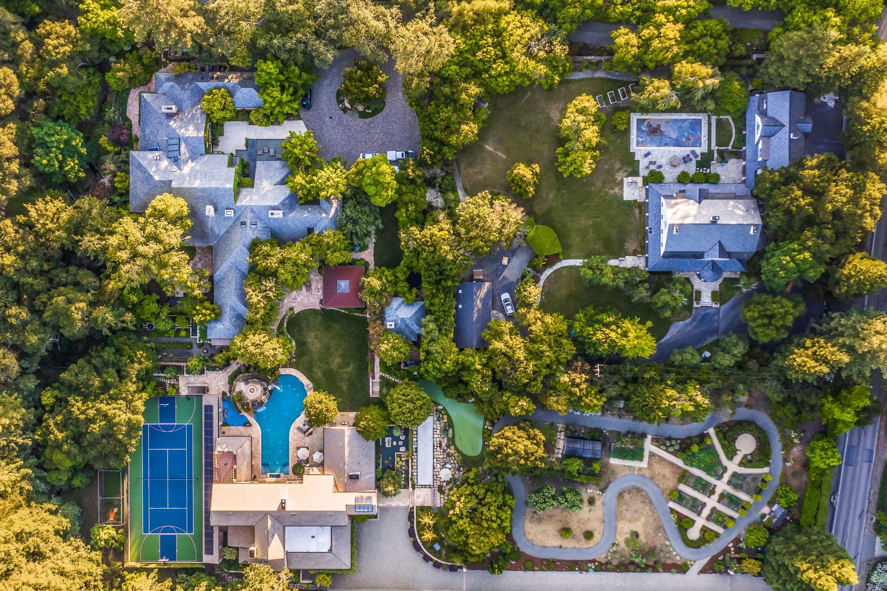 Single Family Homes por un Venta en Impress With This Signature Estate 3943 Happy Valley Road Lafayette, California 94549 Estados Unidos
