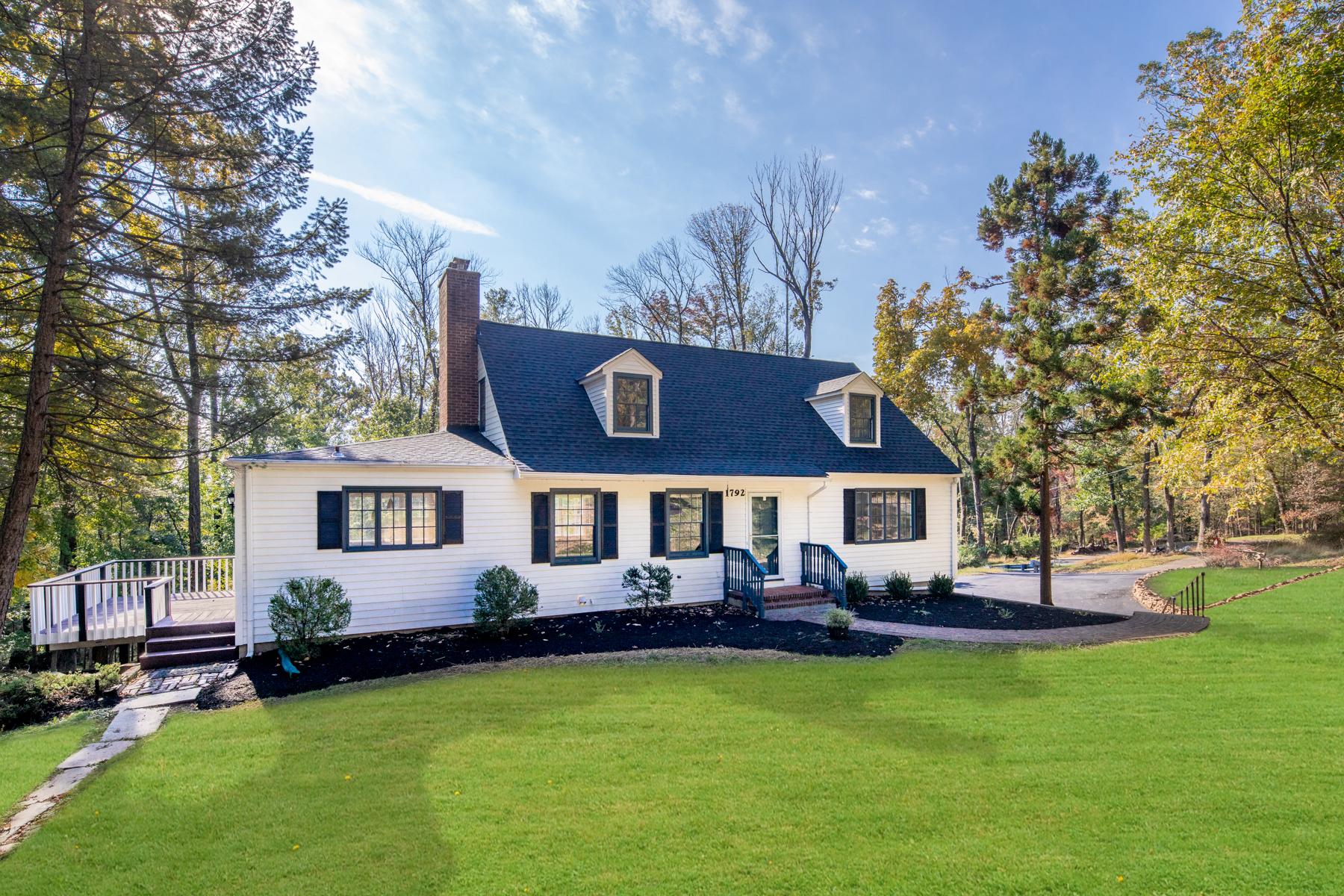 Частный односемейный дом для того Продажа на Beautiful Custom Home 1792 Middlebrook Road, Bound Brook, Нью-Джерси 08805 Соединенные Штаты