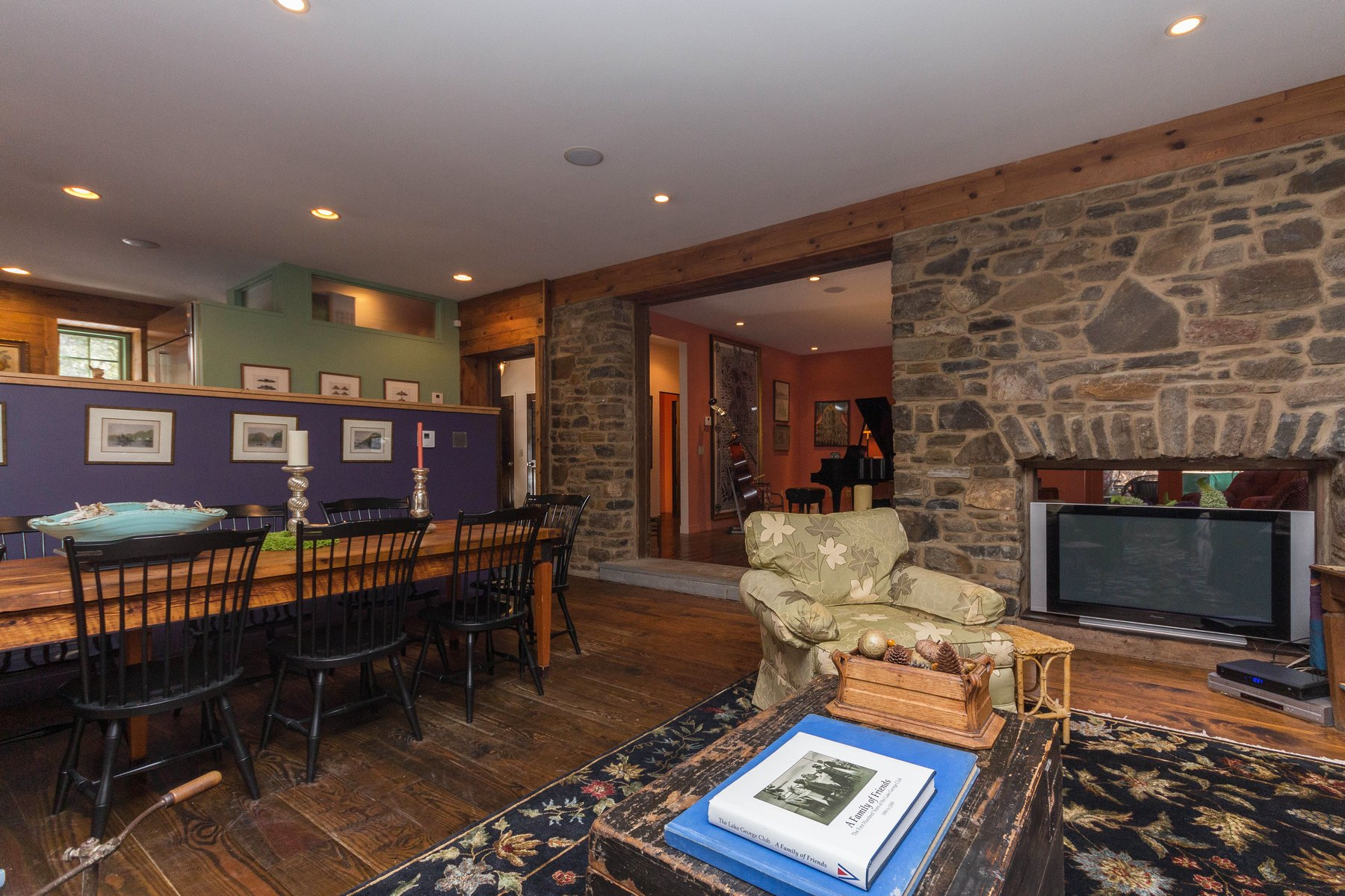 Additional photo for property listing at Hayden Point Contemporary on Lake George 63  Hayden Point Loop Diamond Point, New York 12824 United States