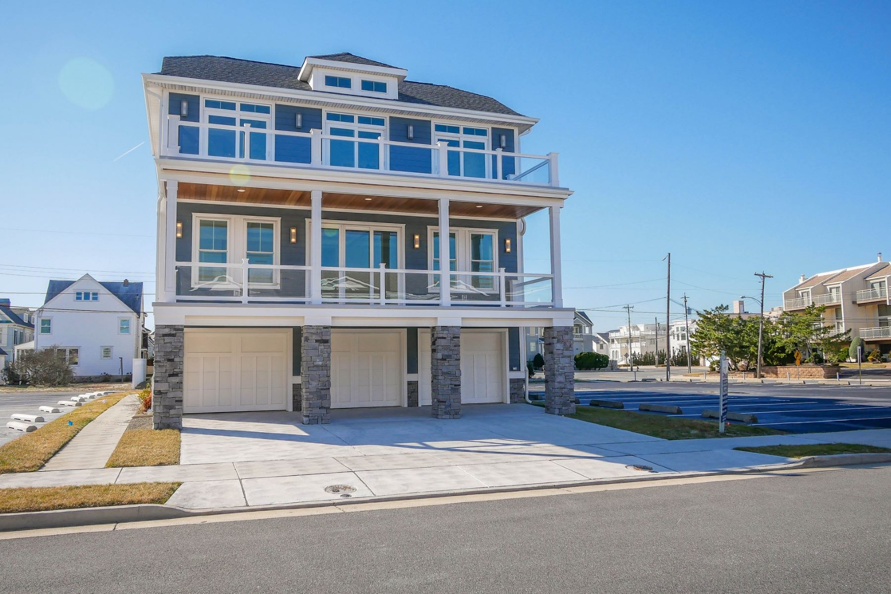 townhouses for Sale at 106 A S 16th Ave 106 B S 16th Ave, Longport, New Jersey 08403 United States