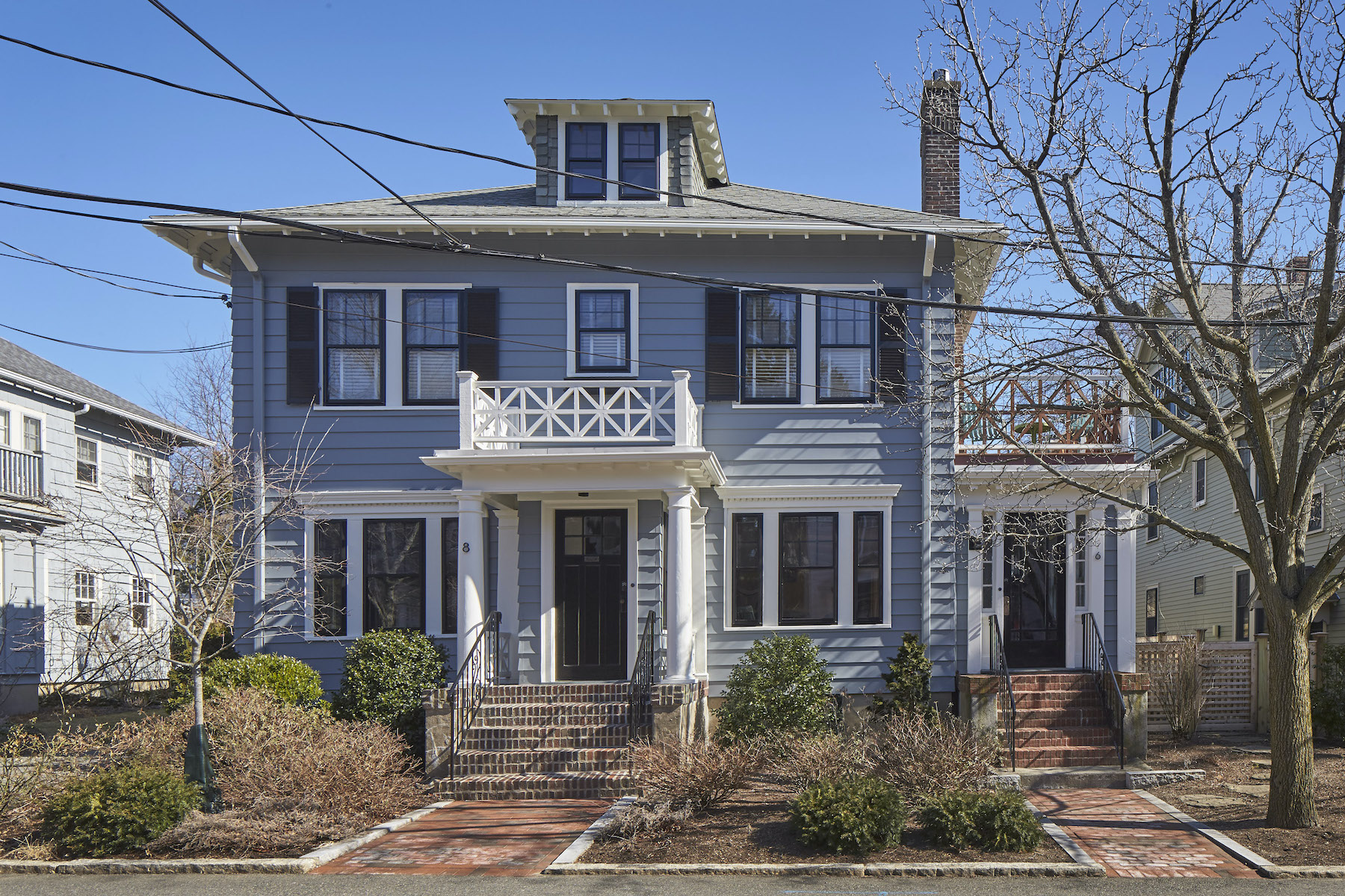 Multi-Family Homes por un Venta en 6-8 Longfellow Road Cambridge, Massachusetts 02138 Estados Unidos
