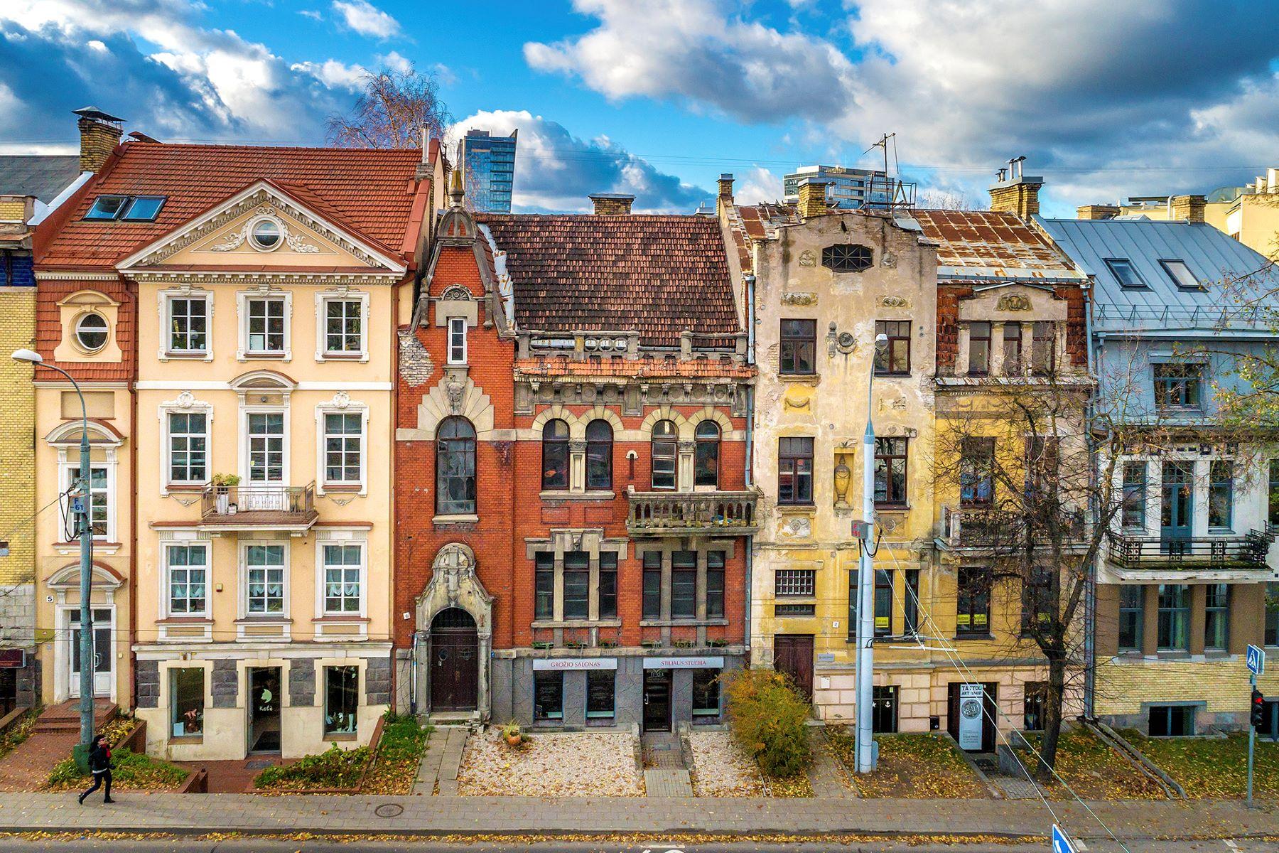 Single Family Home for Sale at Unique Town House In Vilnius Senamiestis, Vilnius, Vilnius County Lithuania