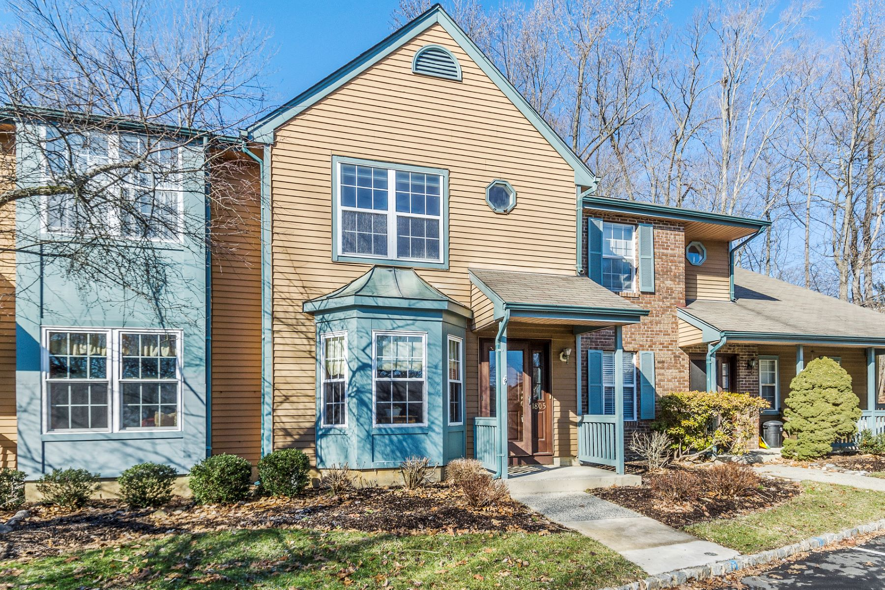 Townhouse for Sale at Comfort and Ease in Whispering Woods 1805 Poplar Court, Monmouth Junction, New Jersey 08852 United States