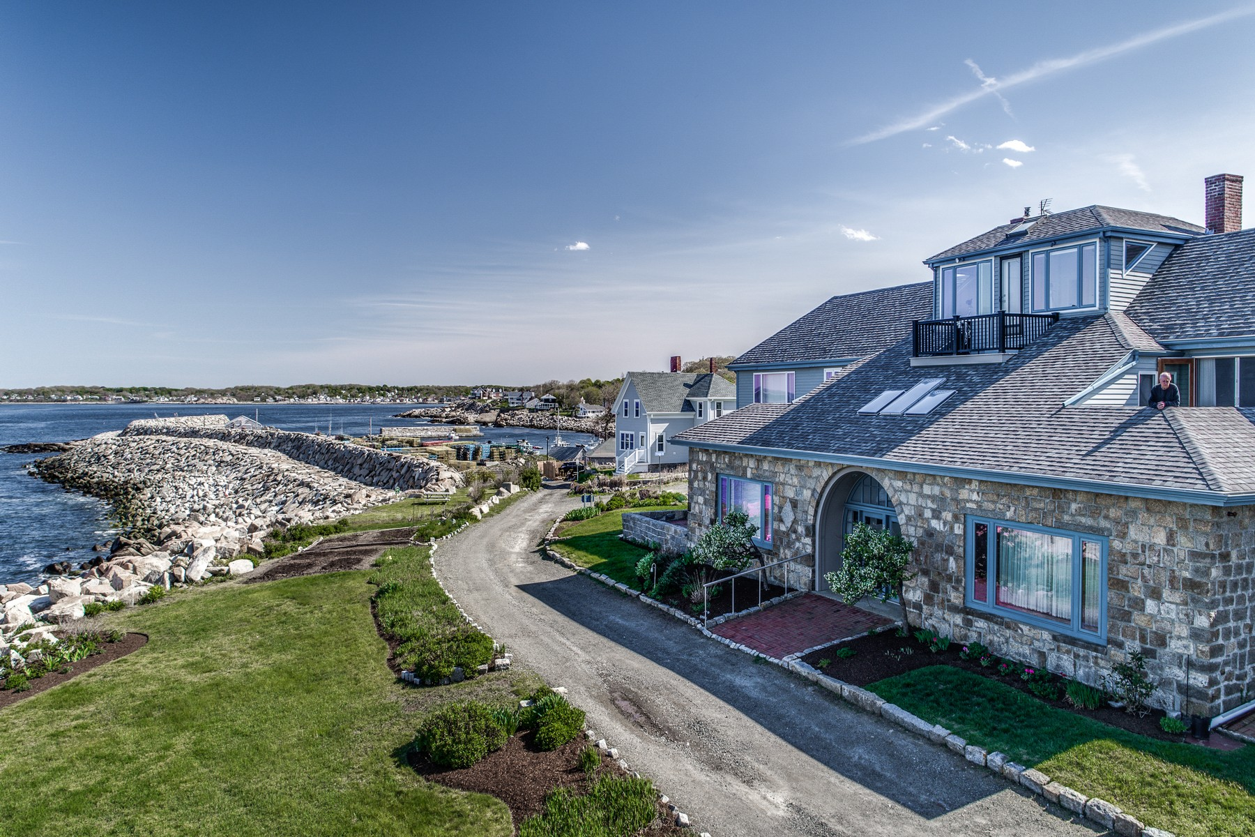 多棟聯建住宅 為 出售 在 Oceanfront Townhouse 3 Cathedral Ave Unit C Rockport, 麻塞諸塞州, 01966 美國
