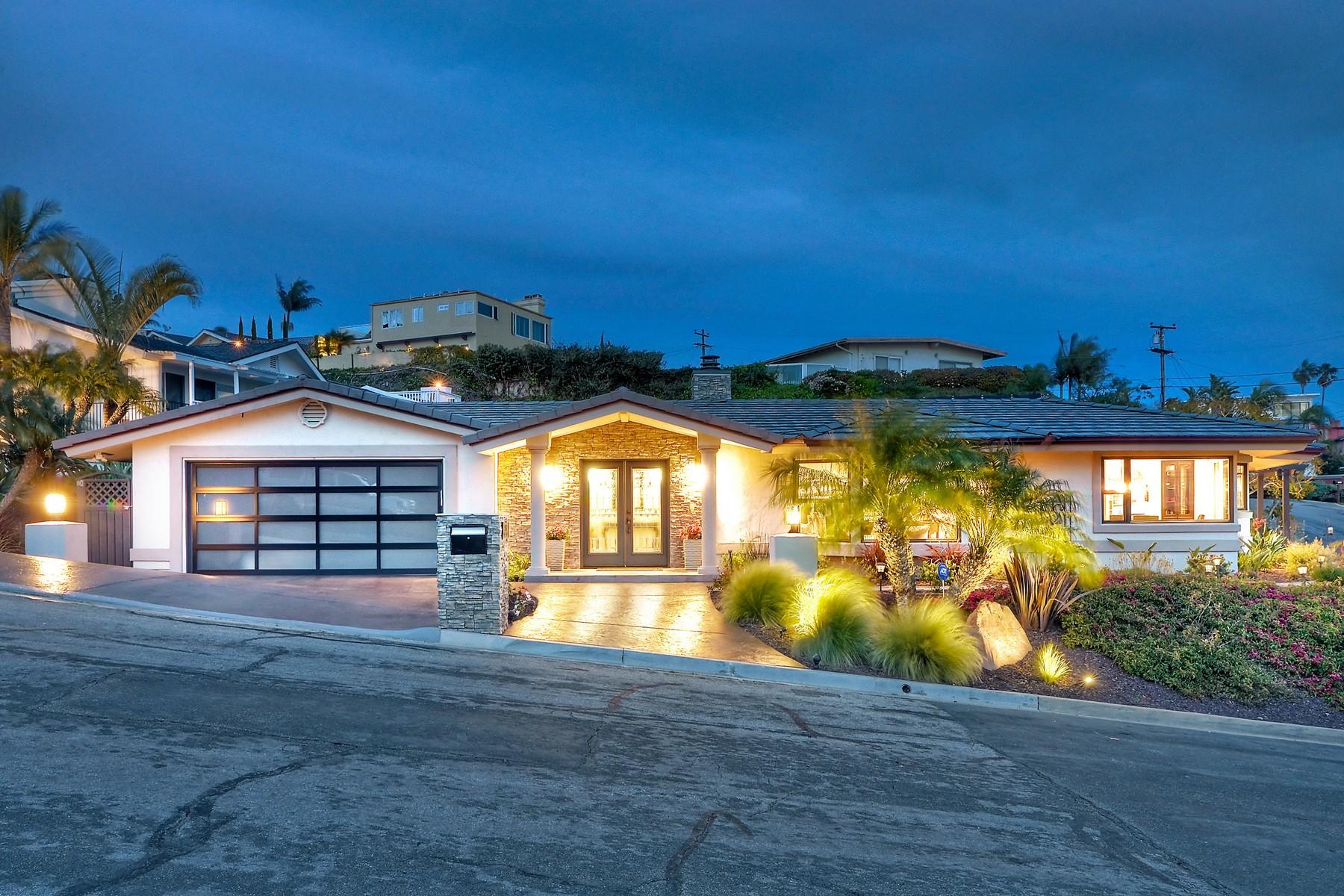 Single Family Home for Sale at 5701 Skylark Place La Jolla, California, 92037 United States