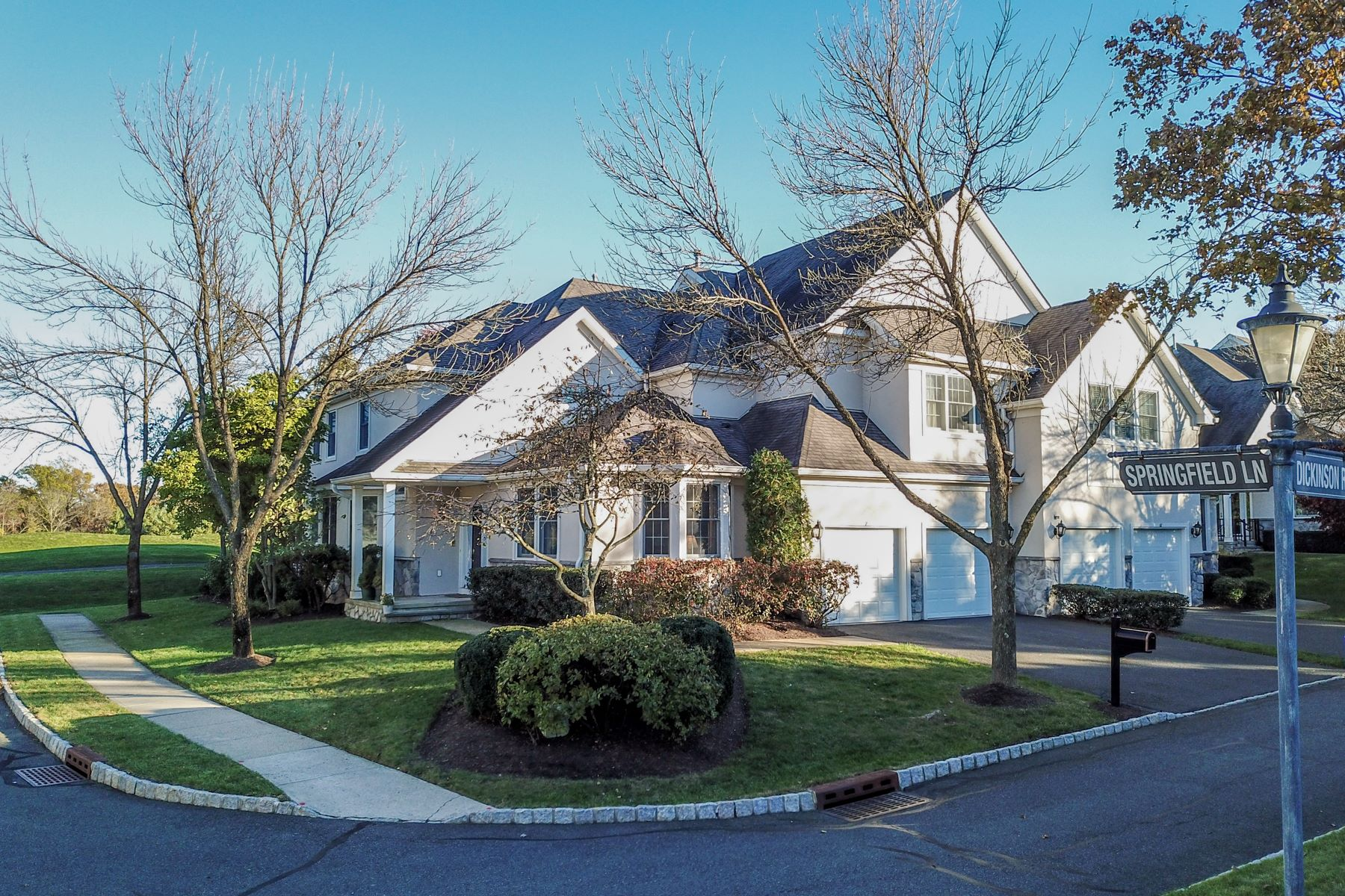 Townhouse for Sale at End Unit Townhouse 7 Springfield Lane, Basking Ridge, New Jersey 07920 United States
