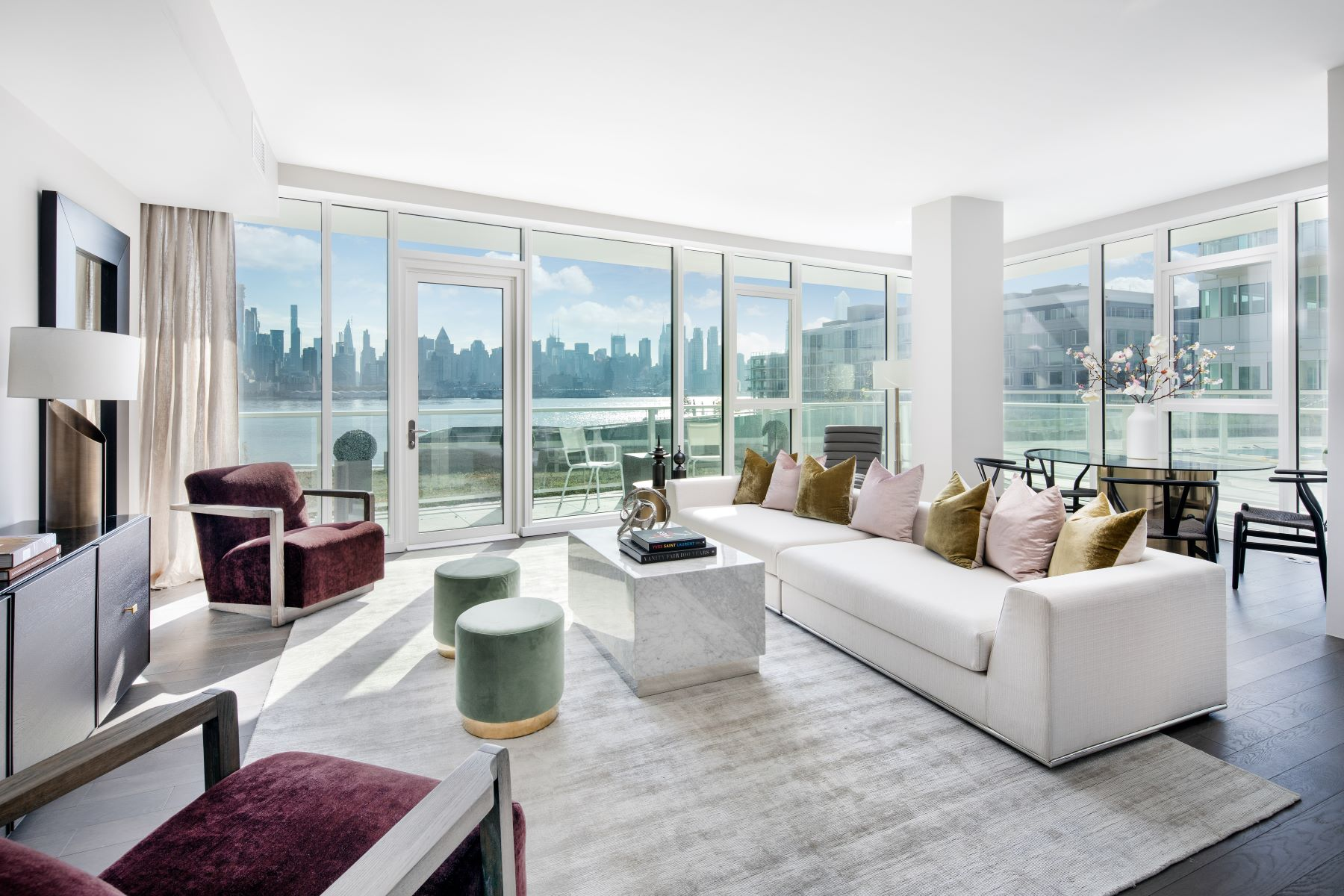 Condominium for Sale at Gold Coast Living 800 Port Imperial Boulevard Unit 613, Weehawken, New Jersey 07086 United States