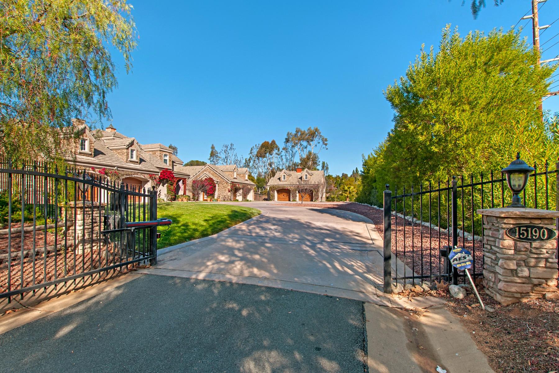 단독 가정 주택 용 매매 에 15190 Saddlebrook Estates 15190 Saddlebrook Ct., Poway, 캘리포니아, 92064 미국