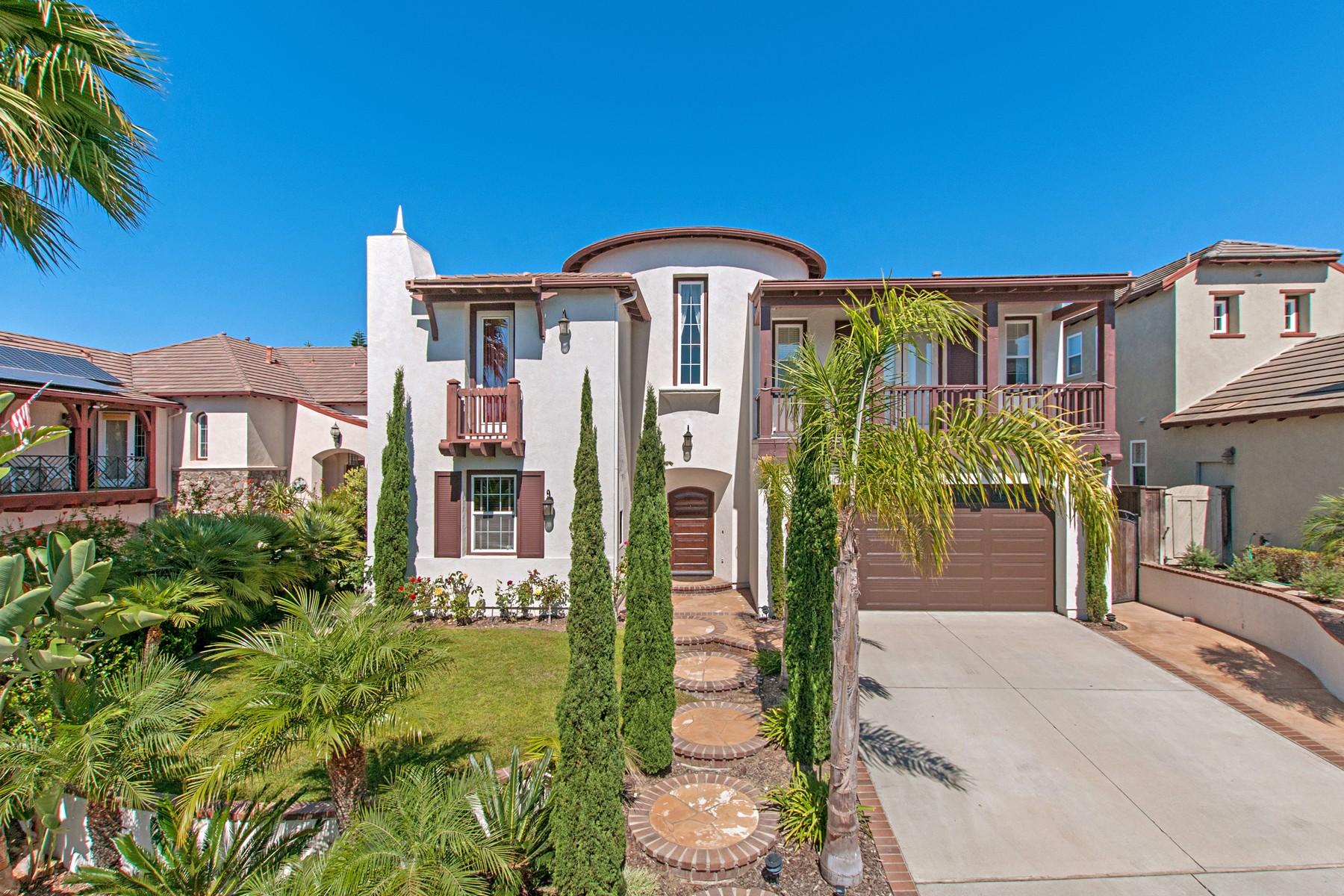 獨棟家庭住宅 為 出售 在 4064 Via Cangrejo Carmel Valley, San Diego, 加利福尼亞州, 92130 美國