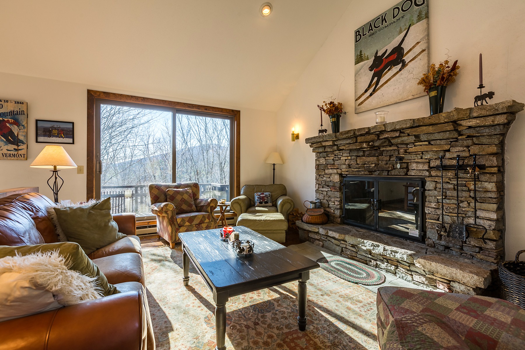 Single Family Homes for Sale at Privately Set Midway Between Okemo & Killington 283 Salt Ash Rd Plymouth, Vermont 05056 United States