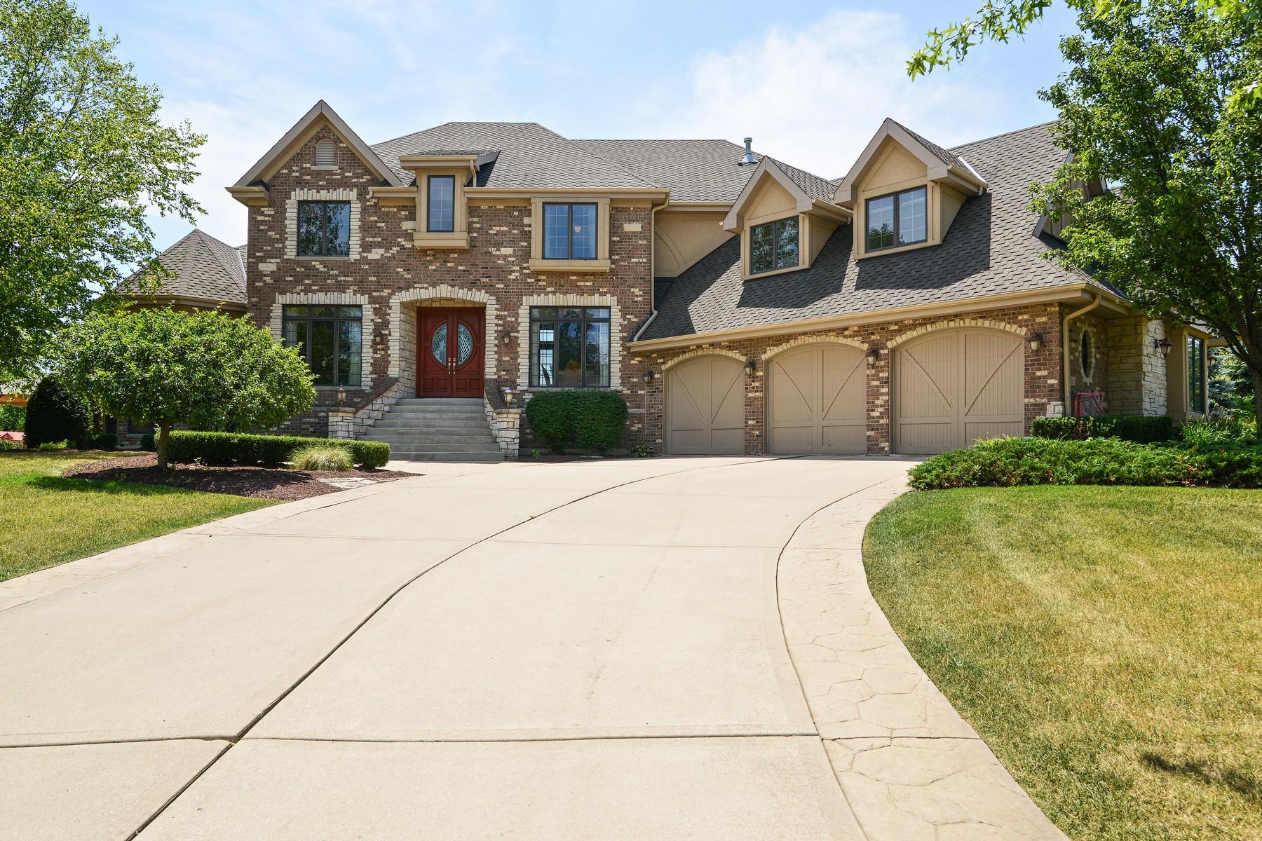 Maison unifamiliale pour l Vente à Magnificent Custom Built Home 374 S Walnut Ridge Court Frankfort, Illinois, 60423 États-Unis