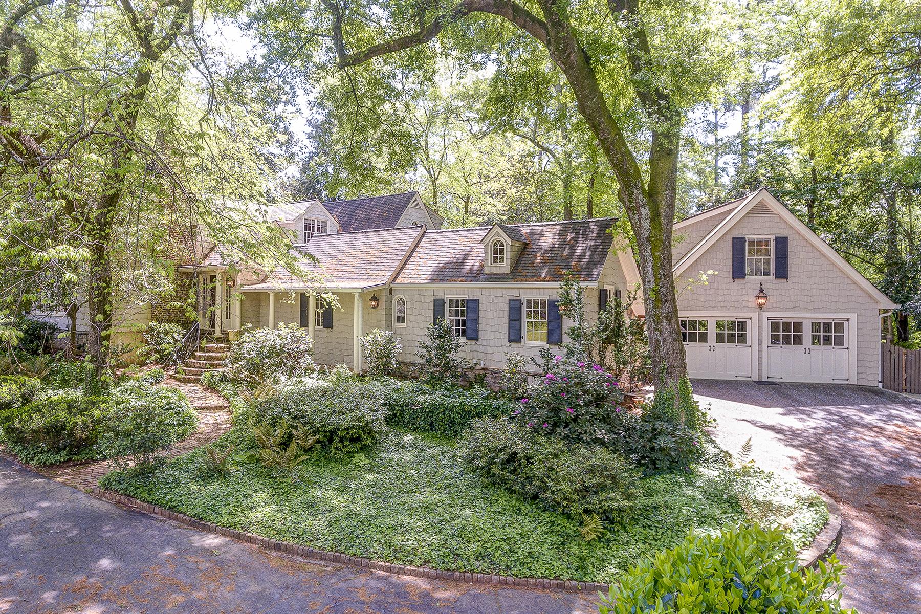 Single Family Home for Sale at Enchanting Property In Tuxedo Park 4047 Tuxedo Road NW Atlanta, Georgia 30342 United States