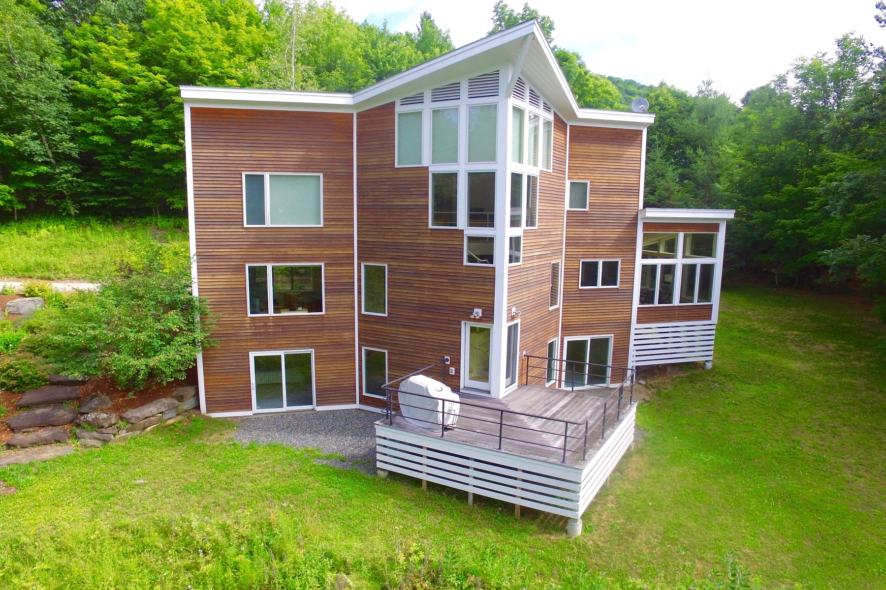 Single Family Homes for Sale at Abundance of Natural Light 614 Deer Brook Way Woodstock, Vermont 05091 United States