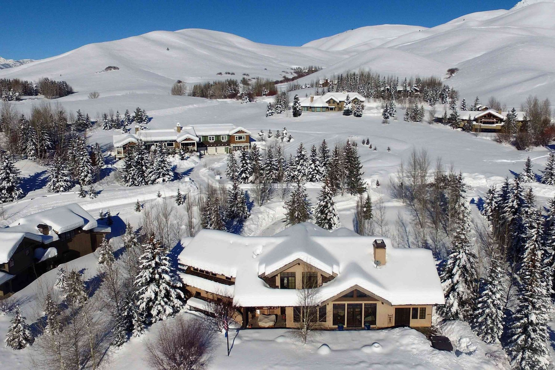 Additional photo for property listing at Stunning Panoramic Views 113 Sagewillow Road Sun Valley, Idaho 83353 États-Unis
