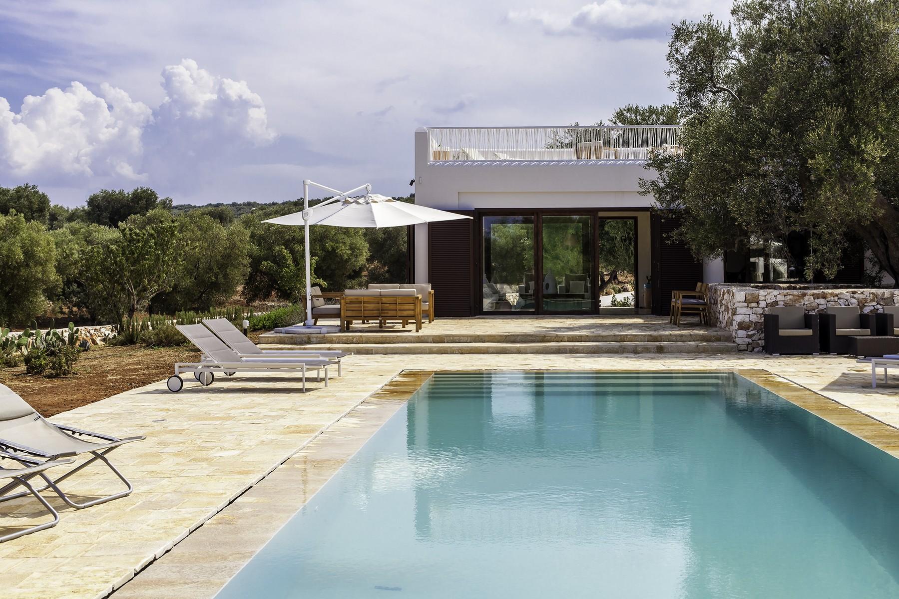 Einfamilienhaus für Verkauf beim Stylish sea view Villa in Salento Contrada Carmine Carovigno, Brindisi 72012 Italien