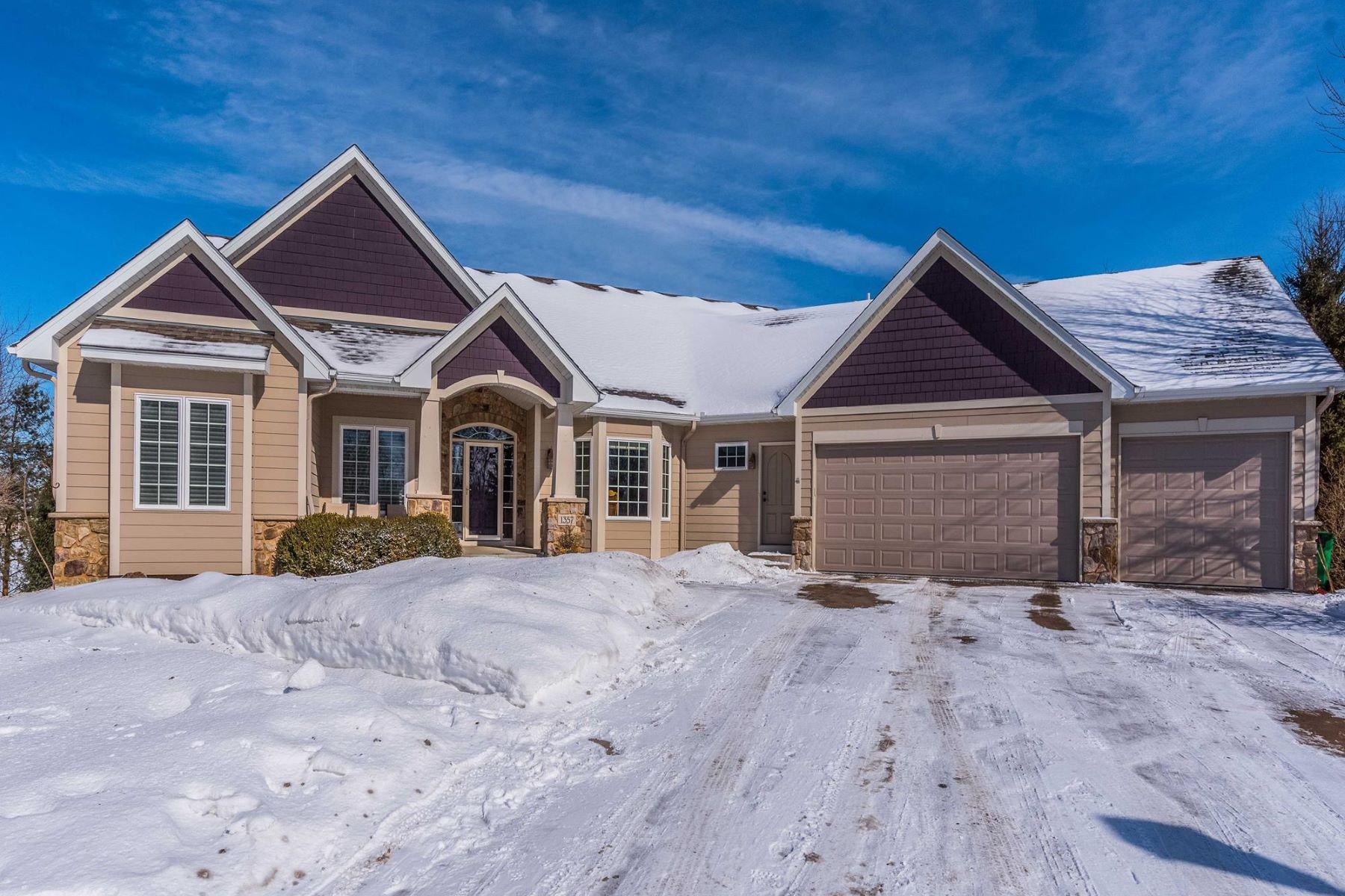 獨棟家庭住宅 為 出售 在 1357 Grace Drive Eagan, 明尼蘇達州, 55123 美國