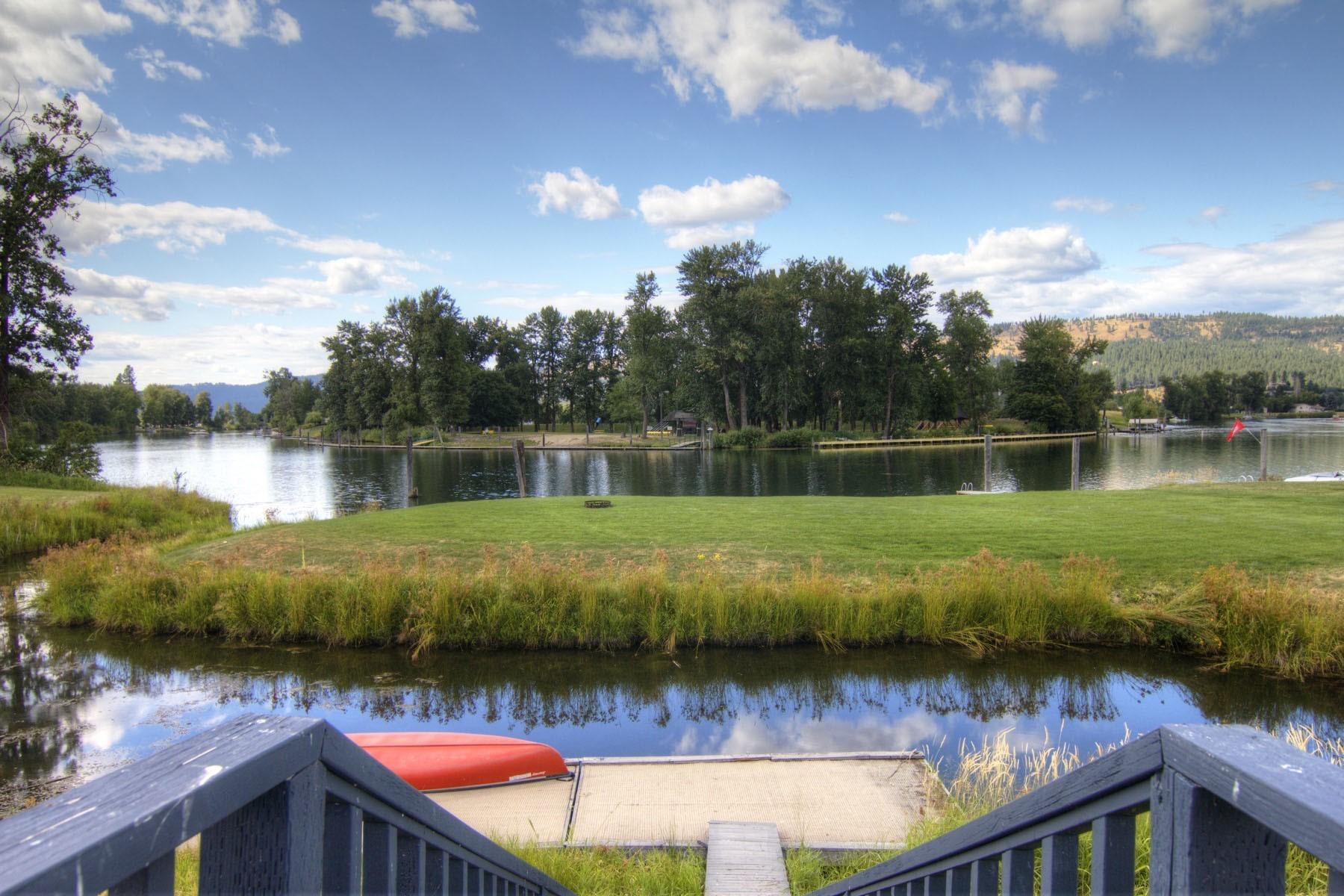 Single Family Homes für Verkauf beim Private Waterfront Inlet on Dividable Lot 306 Shepherd, St. Maries, Idaho 83861 Vereinigte Staaten