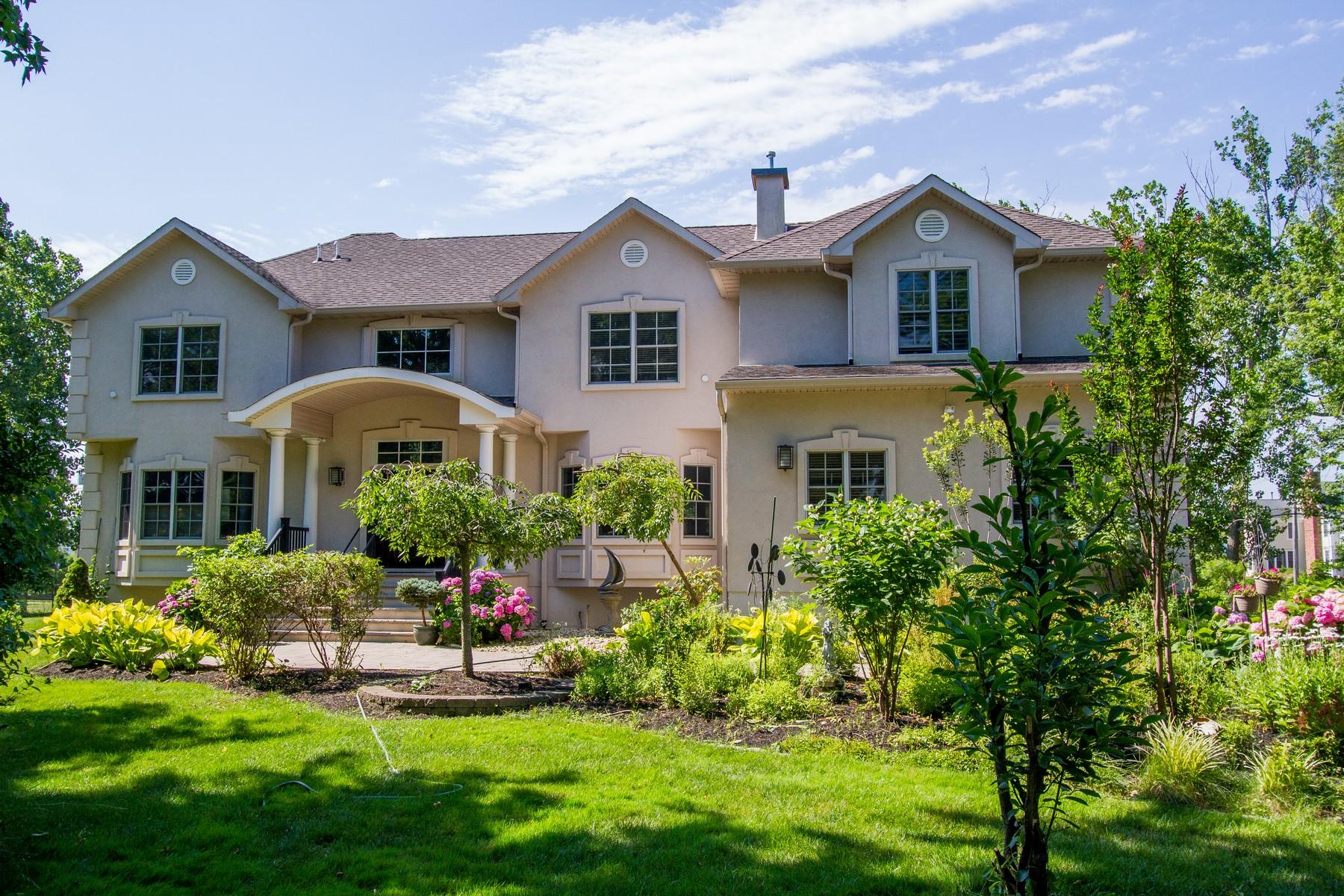 Maison unifamiliale pour l Vente à Custom Colonial 47 Rumson Rd Rumson, New Jersey 07760 États-Unis