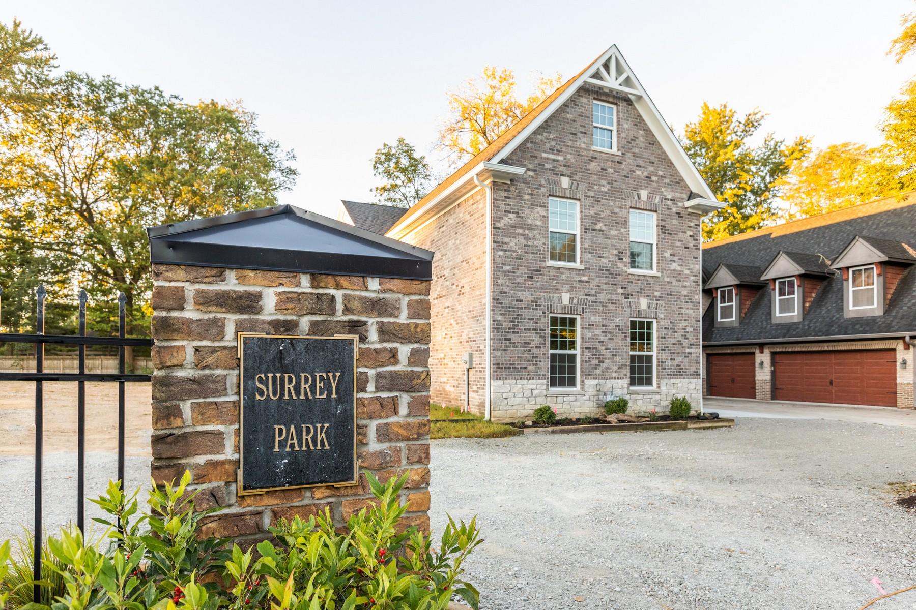 Single Family Homes por un Venta en New Build in Surrey Park 445 West 86th Street Indianapolis, Indiana 46260 Estados Unidos