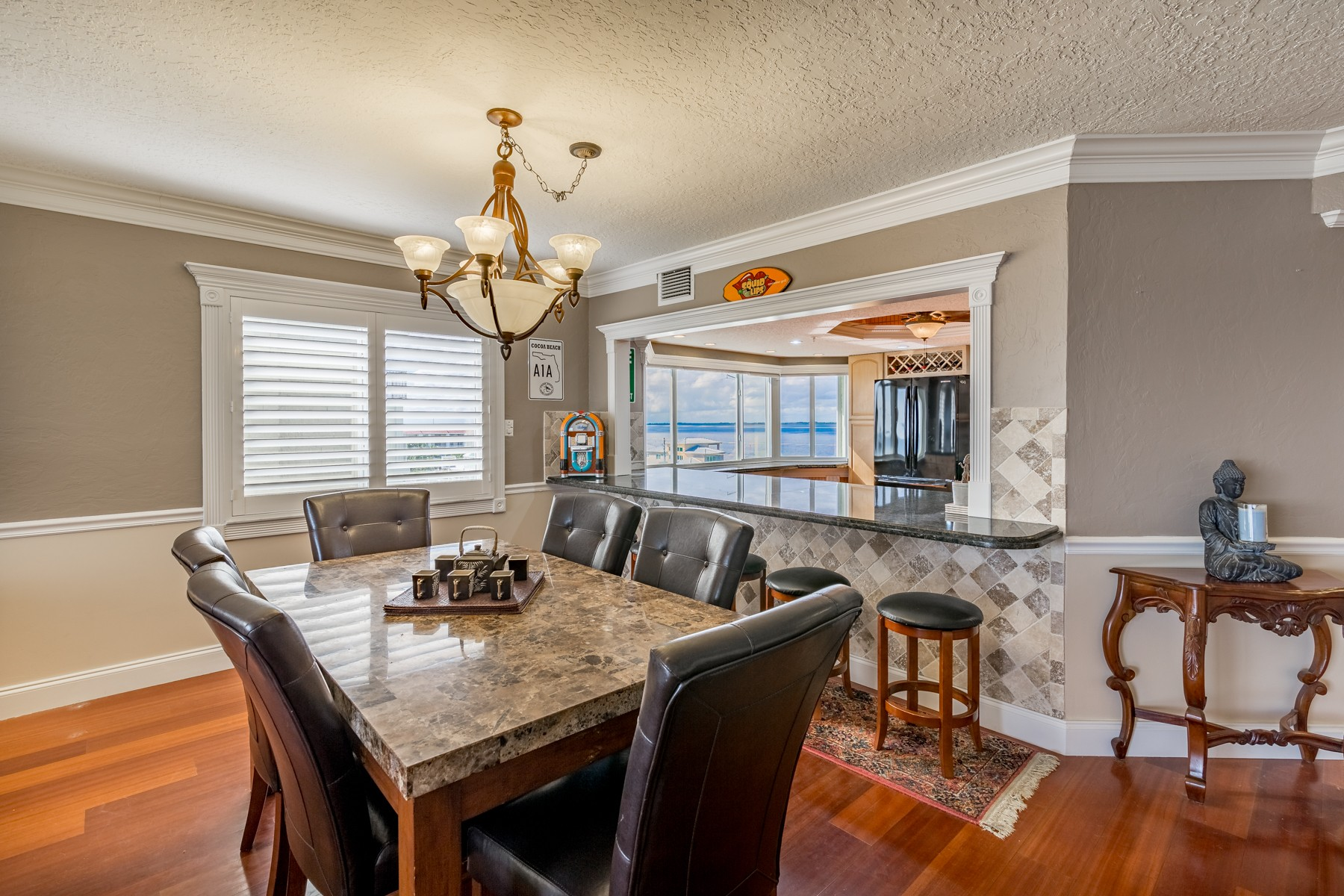 Additional photo for property listing at Glorious View from Waterfront Villa in Casa Playa 3031 S Atlantic Ave #402 Cocoa Beach, Florida 32931 United States