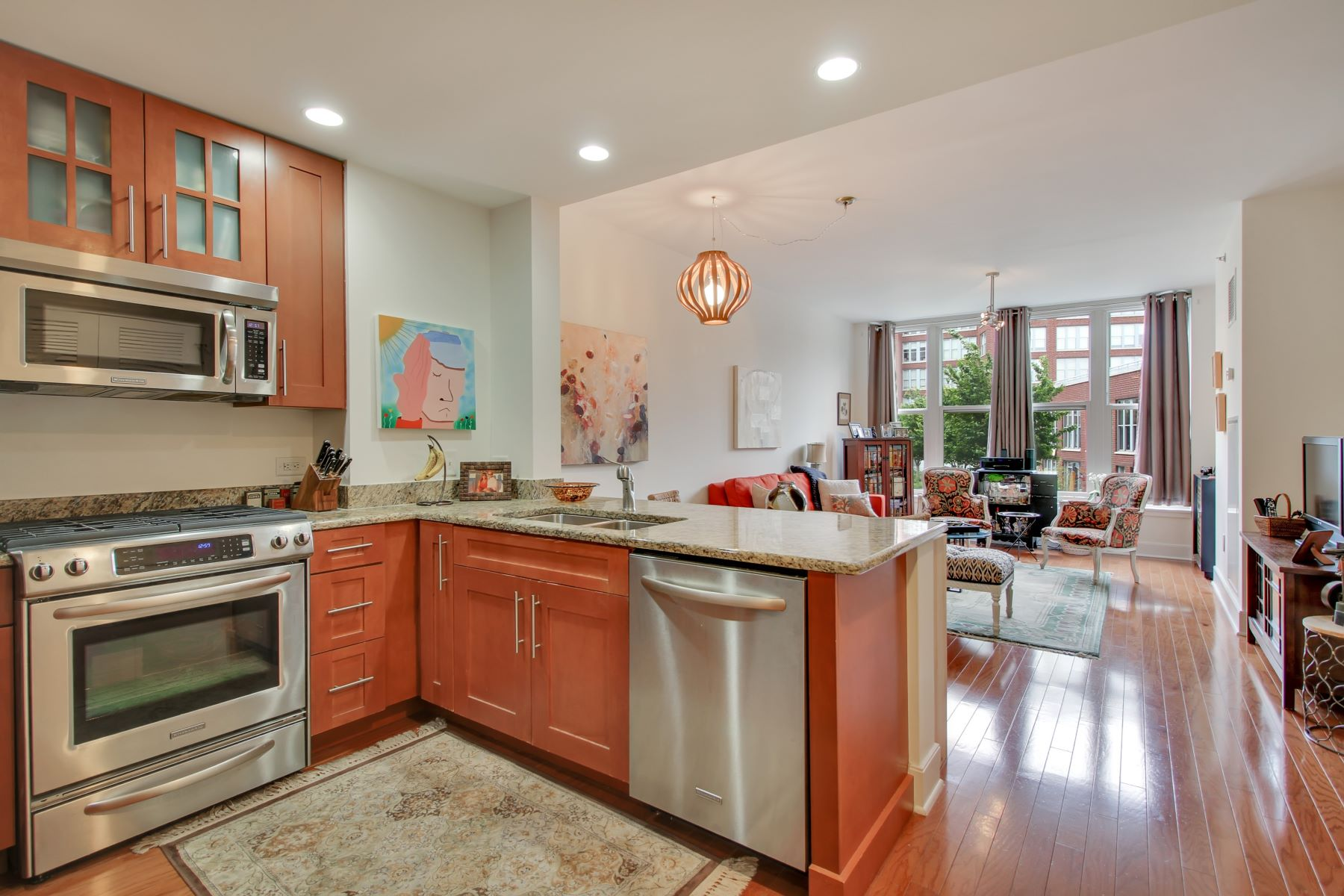 Condominio por un Alquiler en Welcome to Maxwell Place 1125 Maxwell PL #503 Hoboken, Nueva Jersey 07030 Estados Unidos