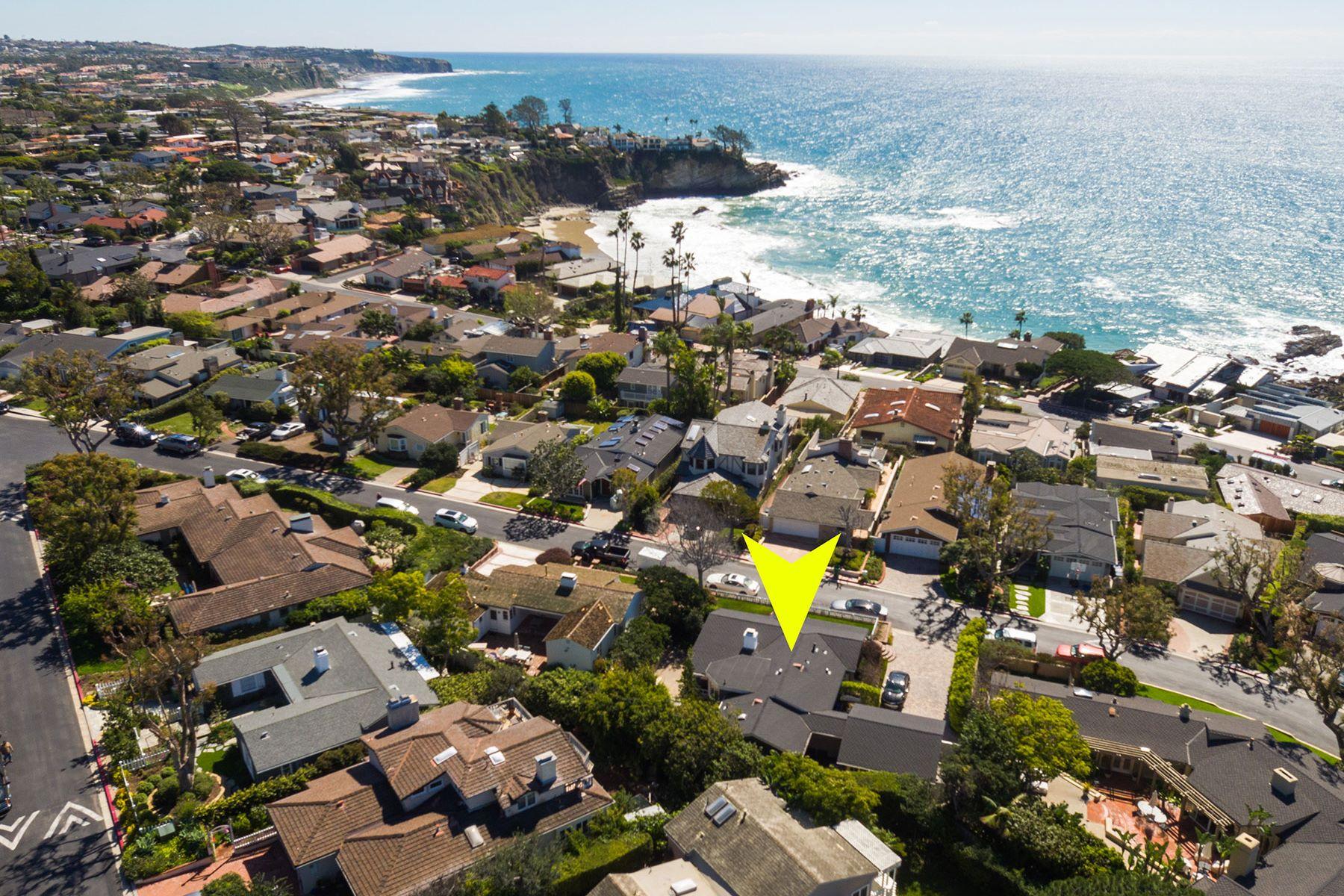 Частный односемейный дом для того Продажа на 3 S. Portola 3 S. La Senda Laguna Beach, Калифорния, 92651 Соединенные Штаты