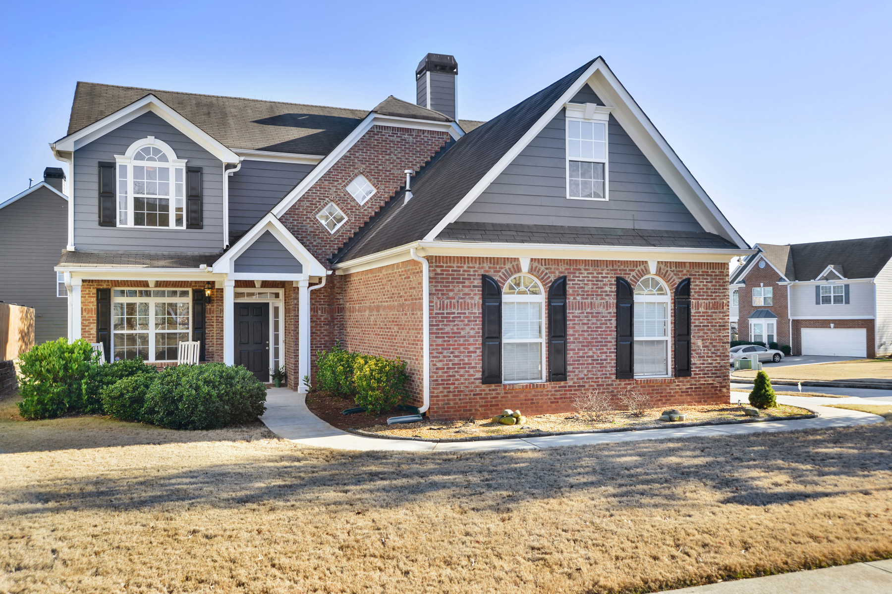 Single Family Home for Sale at Fantastic Corner Lot Two-Story Traditional Home 3173 Cleftstone Trail Lawrenceville, Georgia 30046 United States