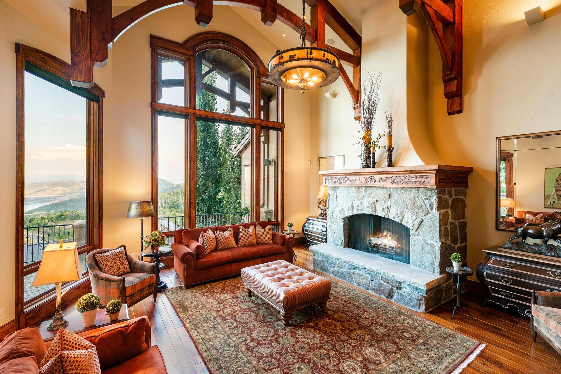 Single Family Homes vì Bán tại Ski In/Ski Out Legacy Home in Deer Crest Estates in Deer Valley 3300 W Deer Crest Estates Dr, Park City, Utah 84060 Hoa Kỳ