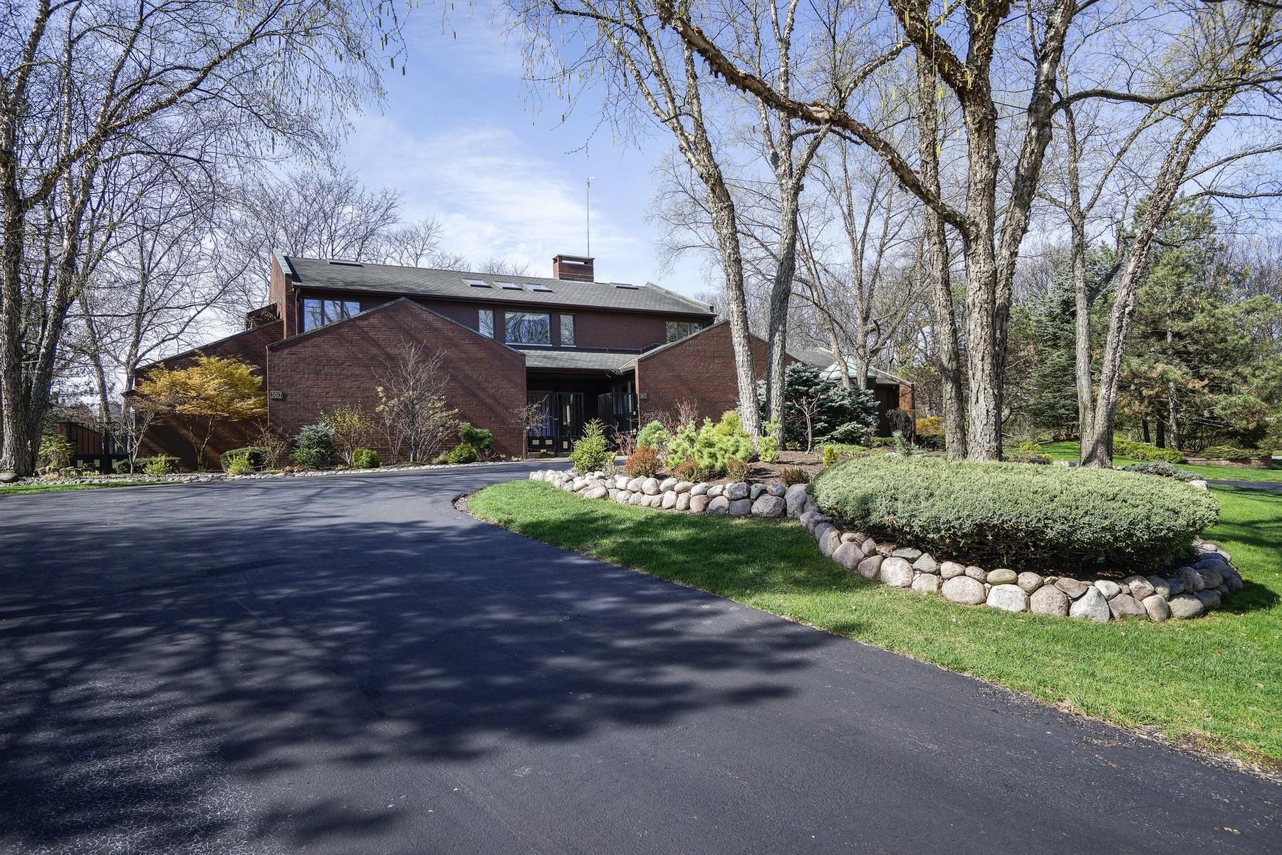 Maison unifamiliale pour l Vente à 3017 Heritage Oaks Lane, Oak Brook Oak Brook, Illinois, 60523 États-Unis