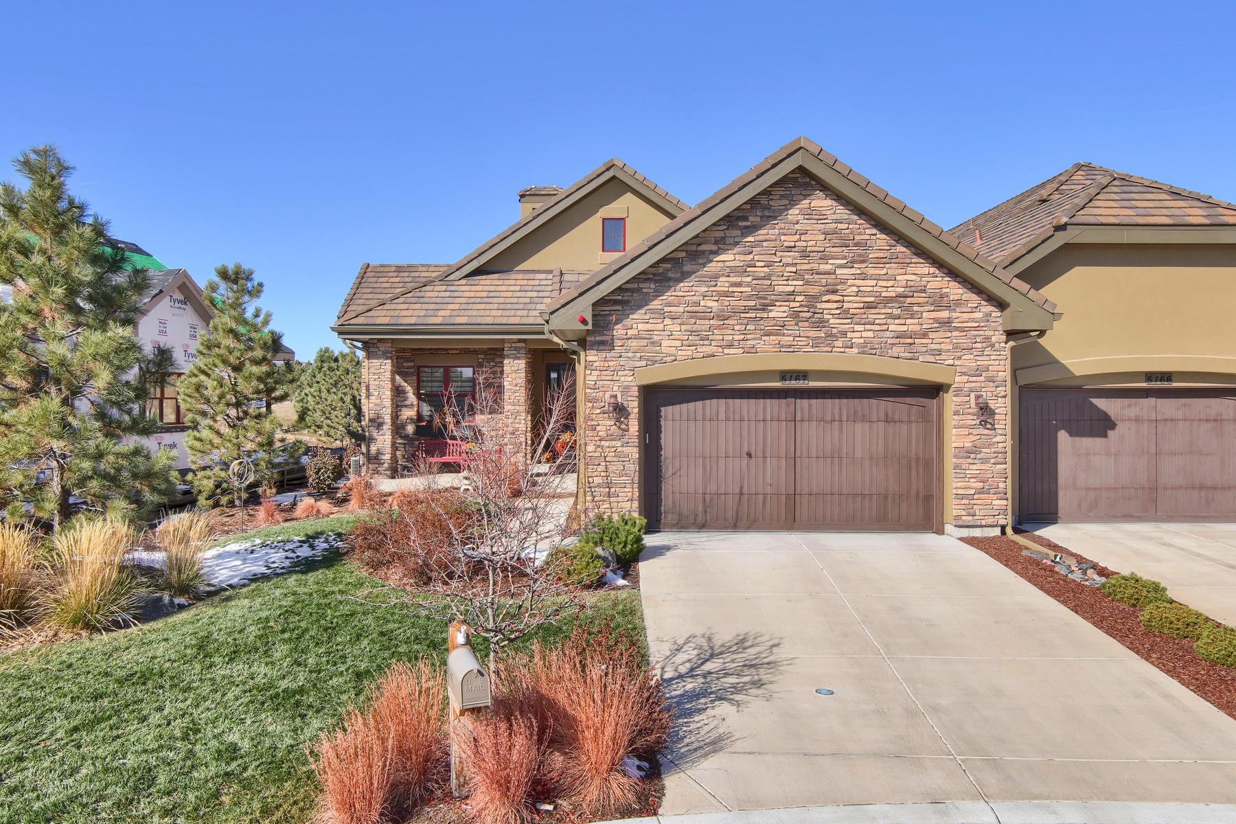 Single Family Home for Active at 5167 Le Duc Dr 5167 Le Duc Dr Castle Rock, Colorado 80108 United States