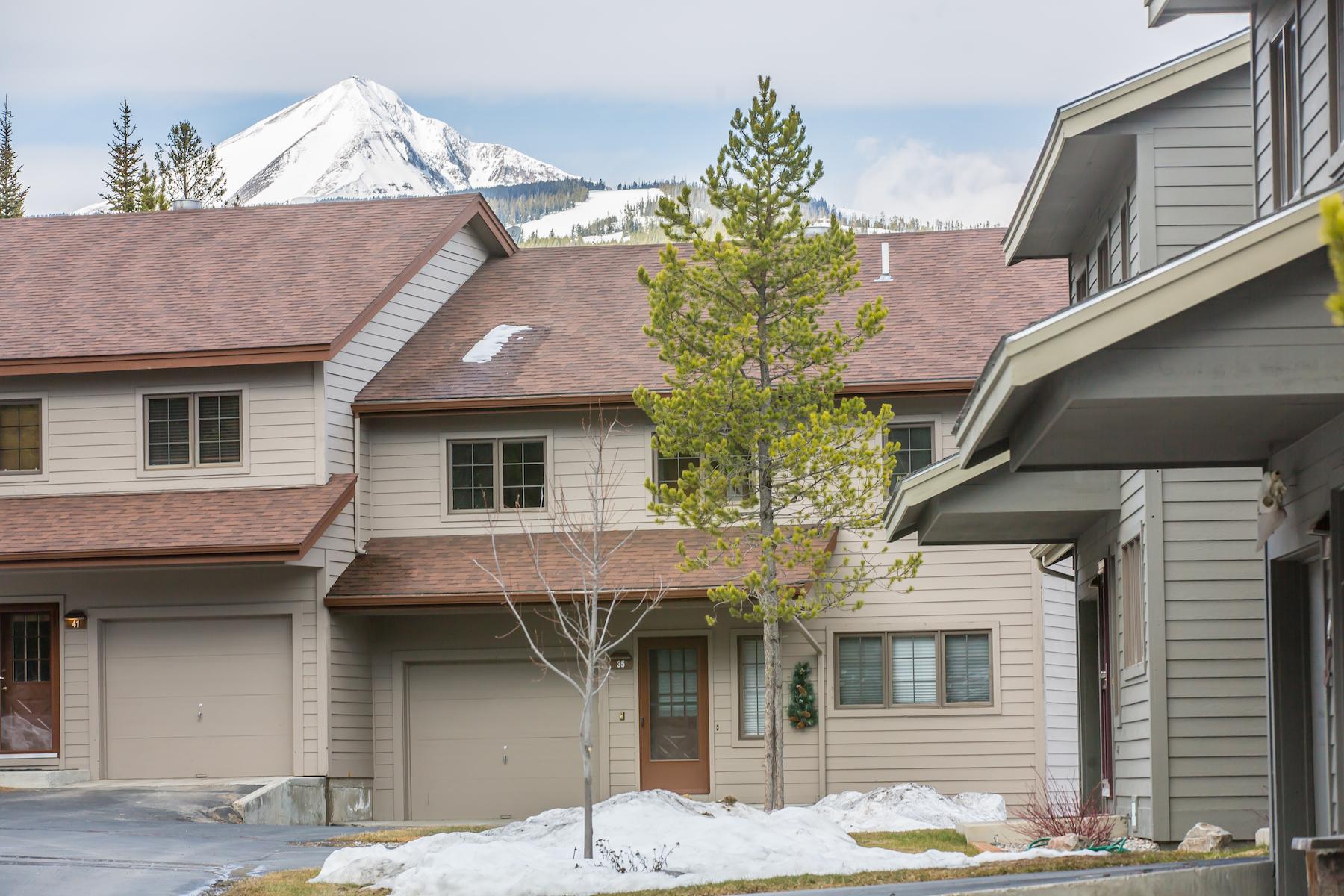 Condominio por un Venta en Lone Peak Views 35 Blue Flax Placw Big Sky, Montana, 59716 Estados Unidos