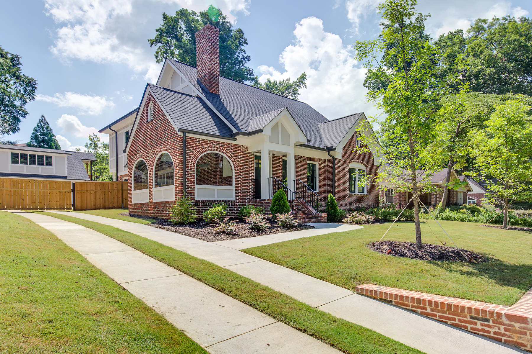 Single Family Home for Sale at Rare Opportunity Total Renovation And Addition in Sought-After Druid Hills 463 Burlington Road NE Atlanta, Georgia 30307 United States