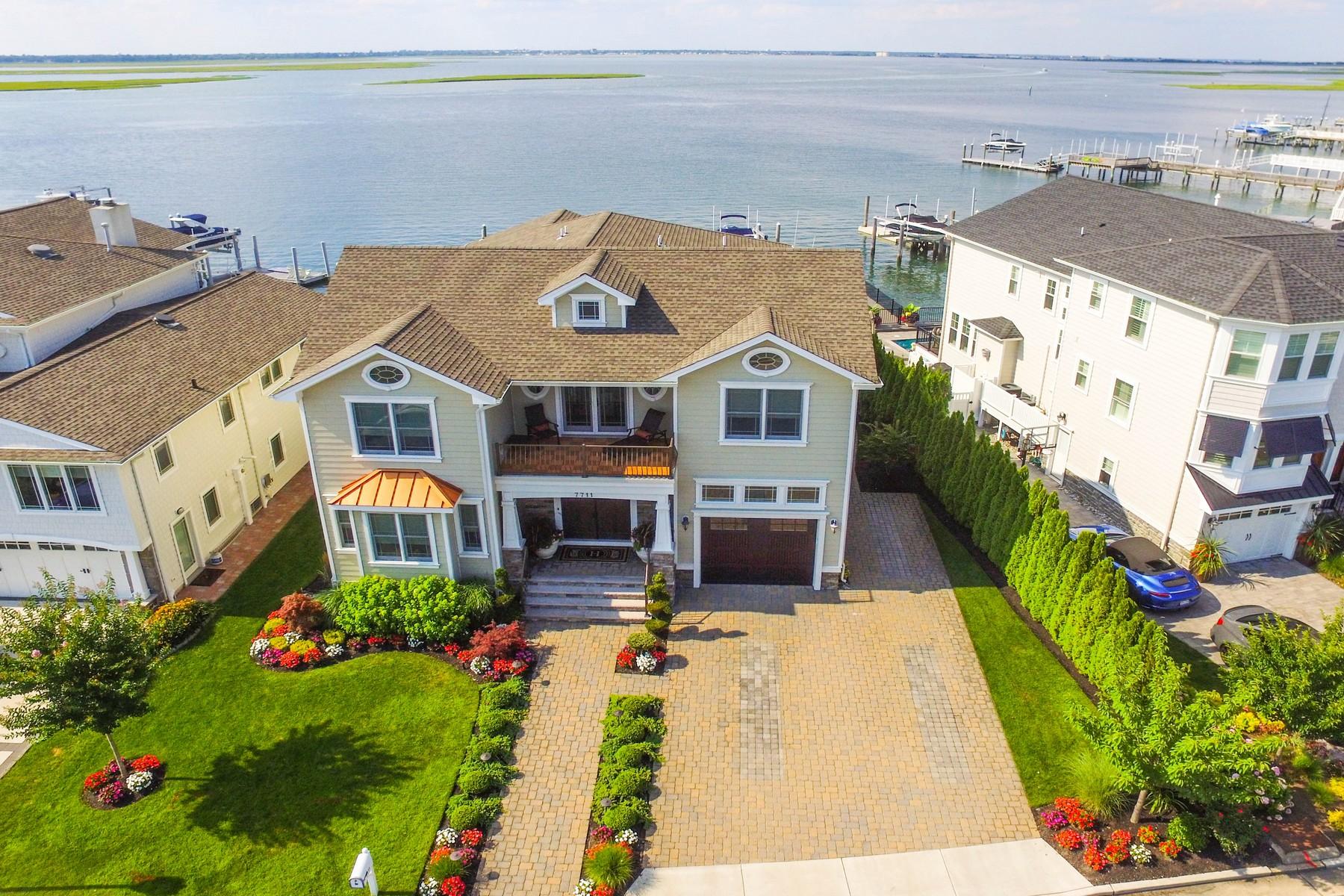 Eensgezinswoning voor Verkoop een t 7711 Bayshore Dr Margate, New Jersey 08402 Verenigde Staten