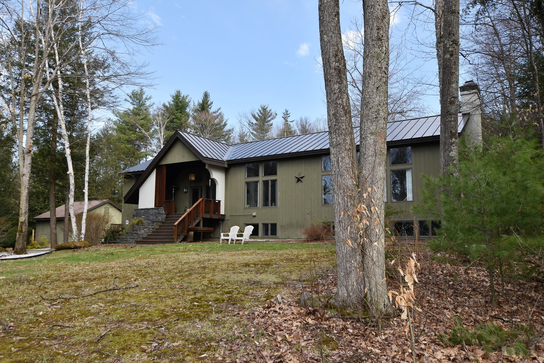 Single Family Home for Sale at Rutland Town-Contemporary-Brook 2.3 Acres 329 Curtis Brook Rd Rutland Town, Vermont 05701 United States