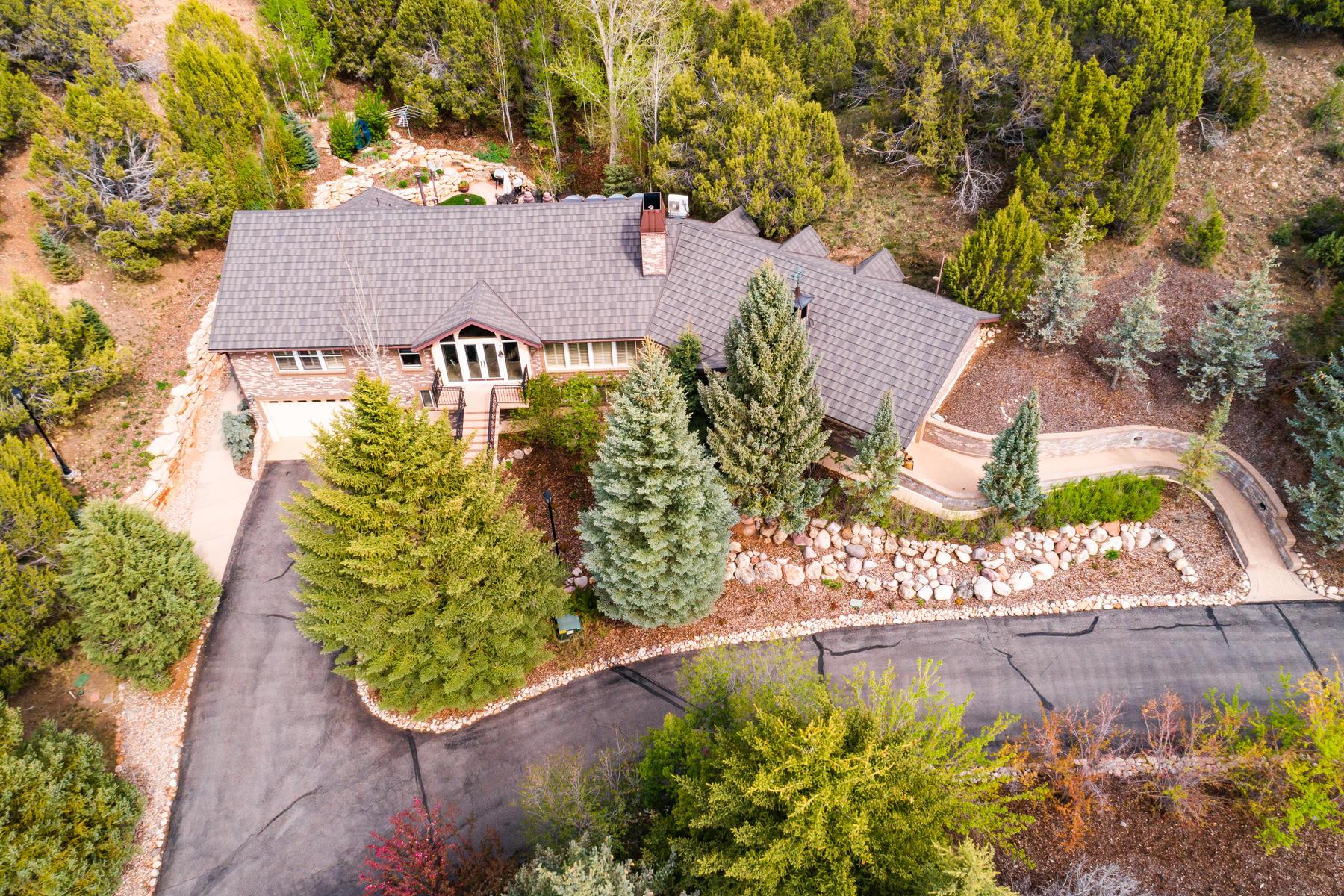 Granjas / Hacienda / Platanción por un Venta en Sprawling Hoytsville Ranch 1595 S Hoytsville Rd Coalville, Utah 84017 Estados Unidos