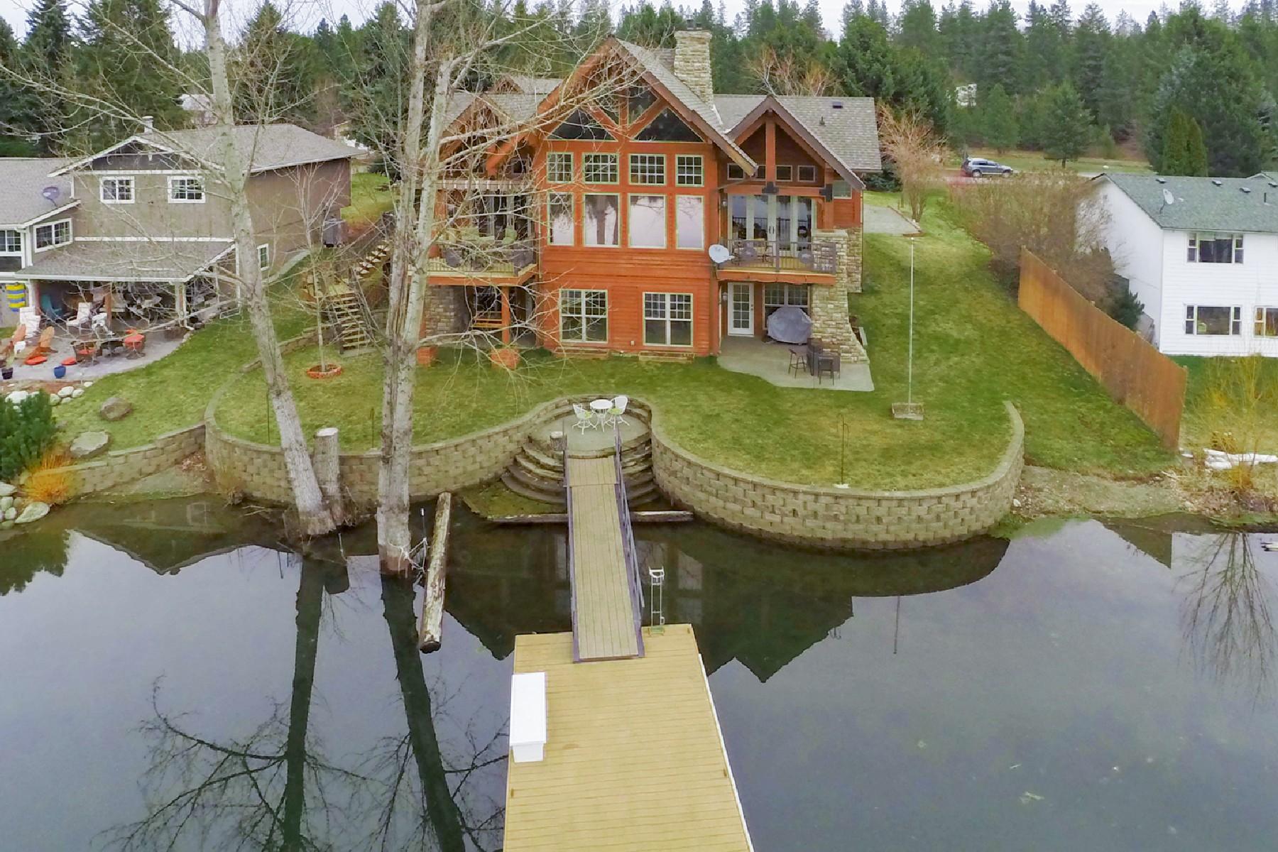 Single Family Home for Active at 6706 Salishan Way, Spirit Lake 6706 W Salishan Way Spirit Lake, Idaho 83869 United States